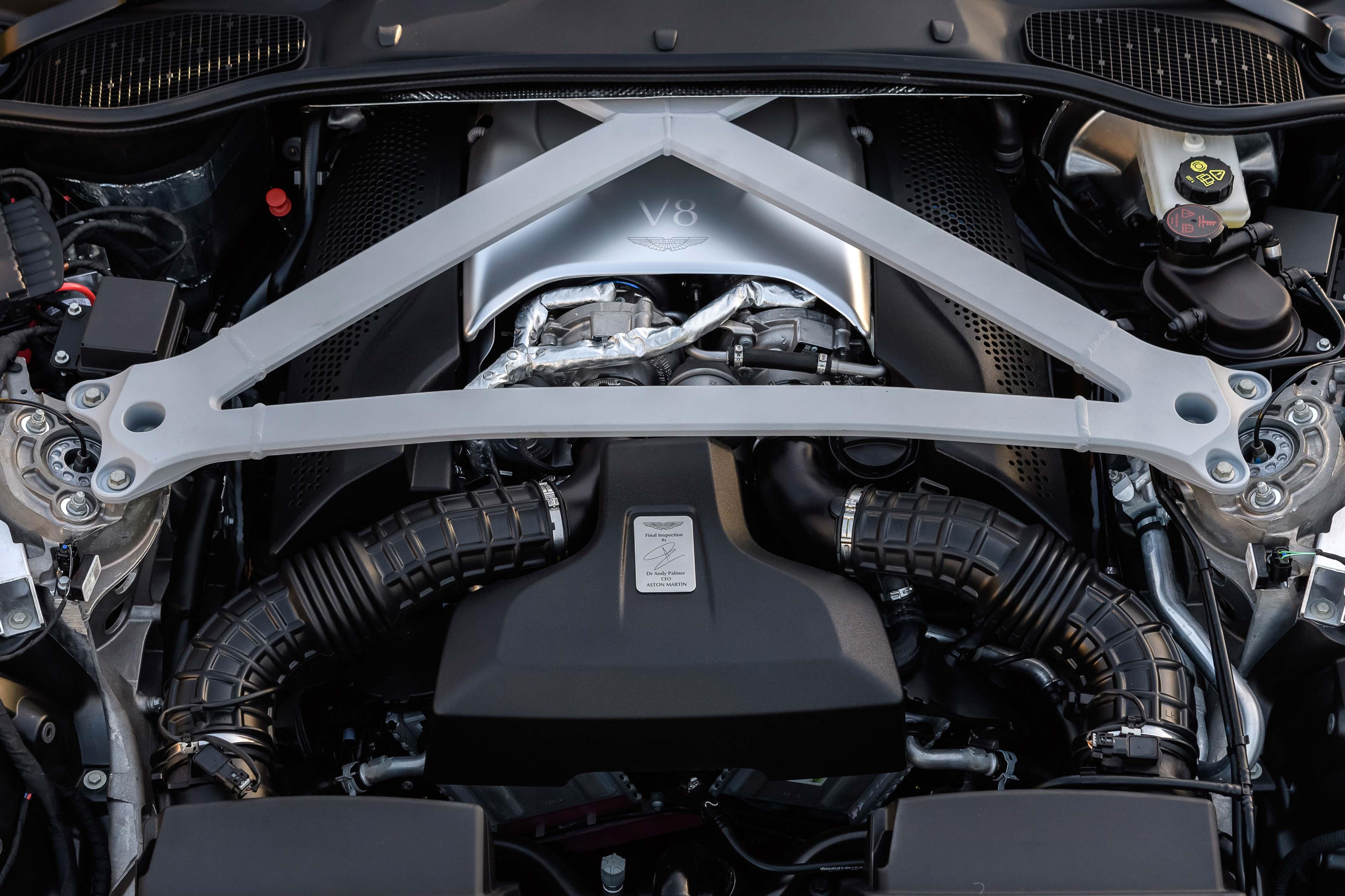 2018 Aston Martin DB11 V-8 engine Mercedes benz