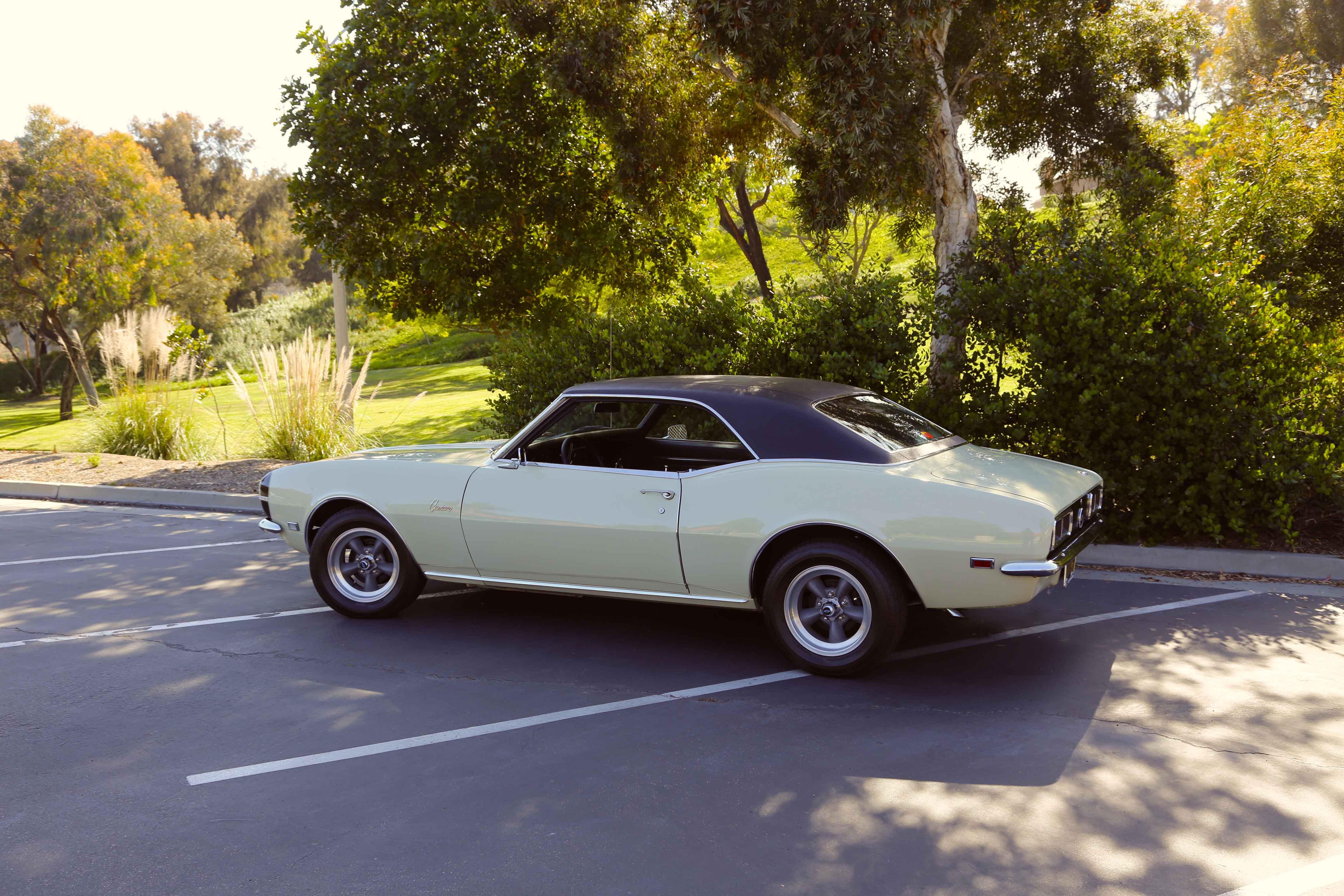 1968 Camaro Odd Options Side Profile