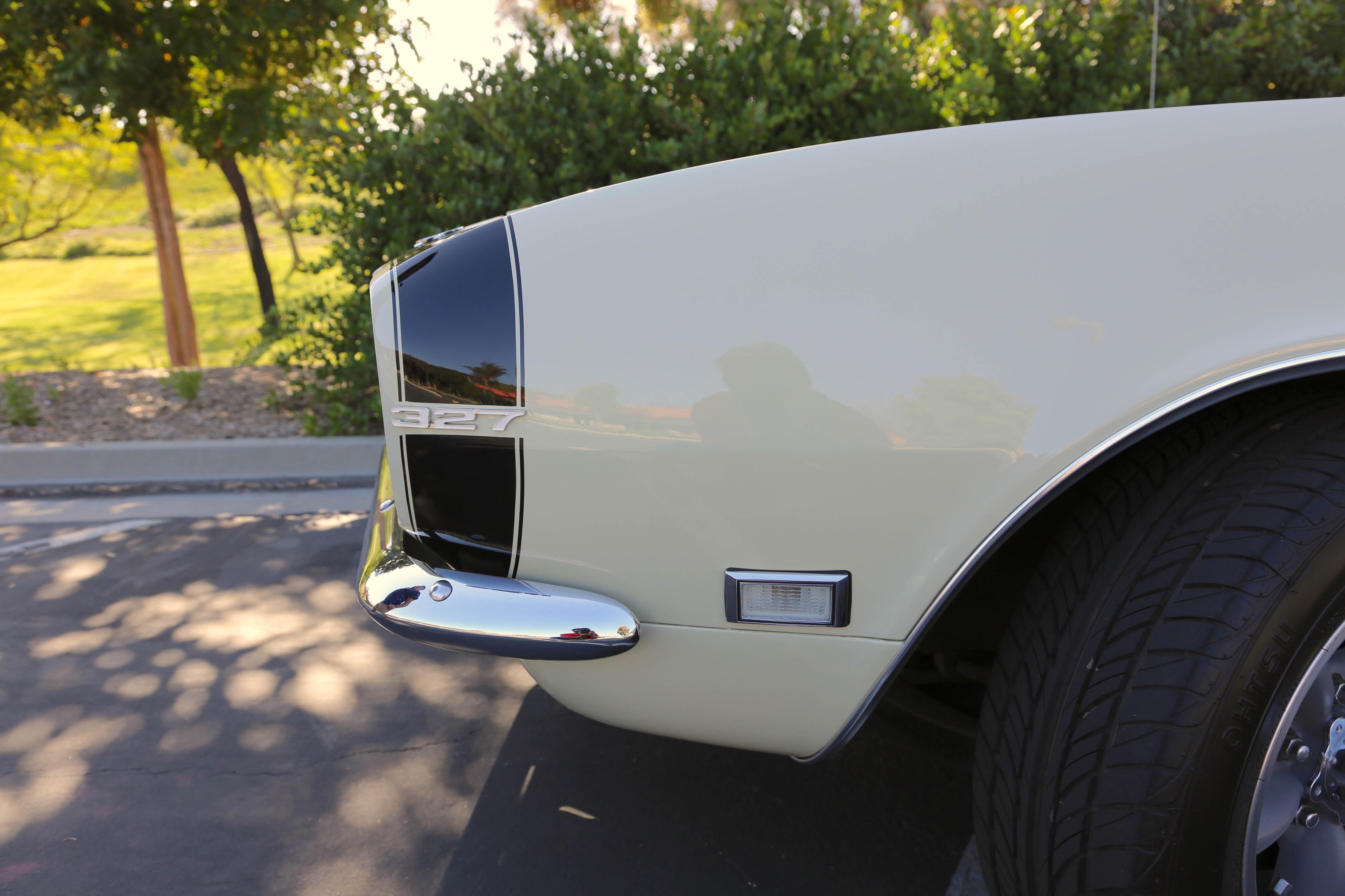 1968 Camaro Odd Options Front stripes