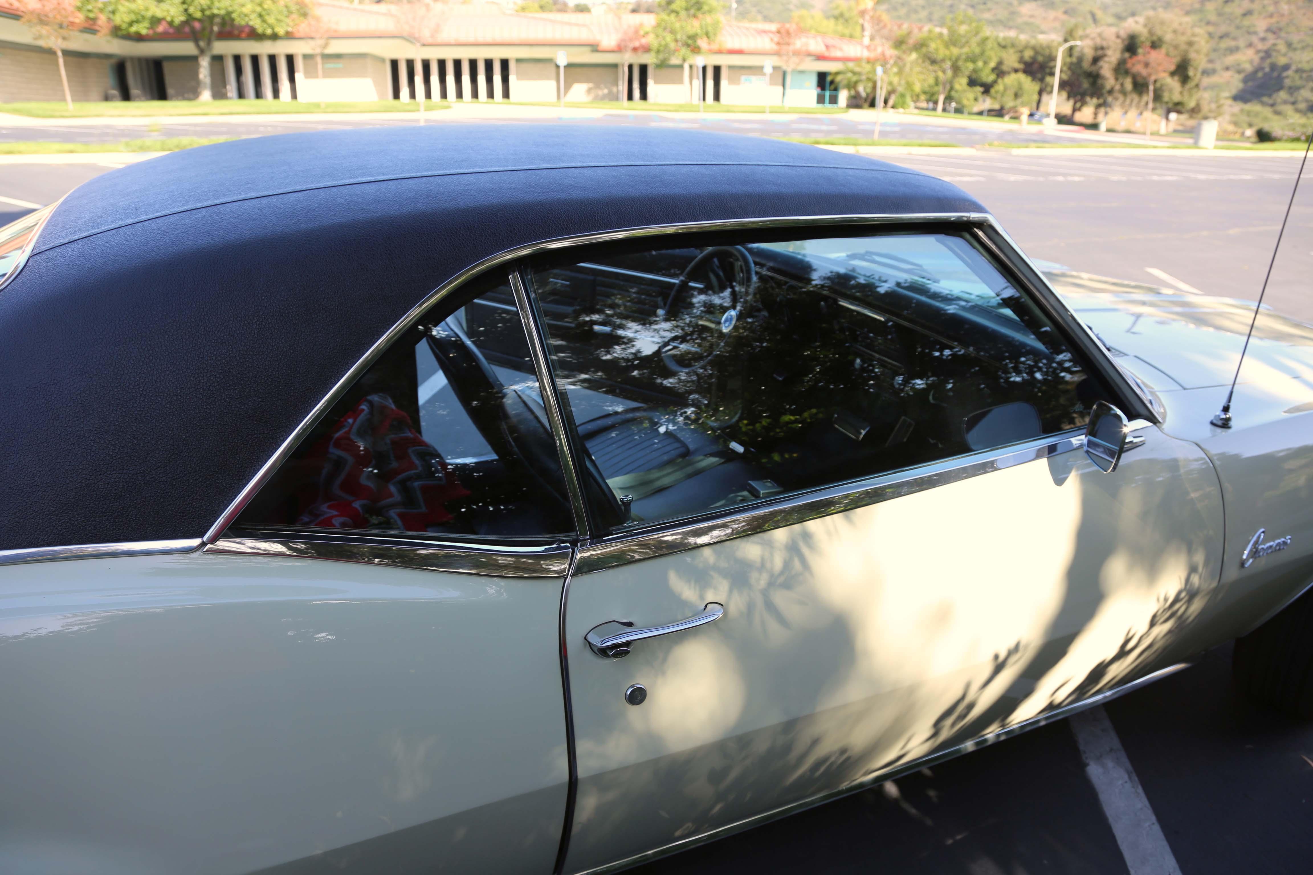 1968 Camaro Odd Options Passenger window