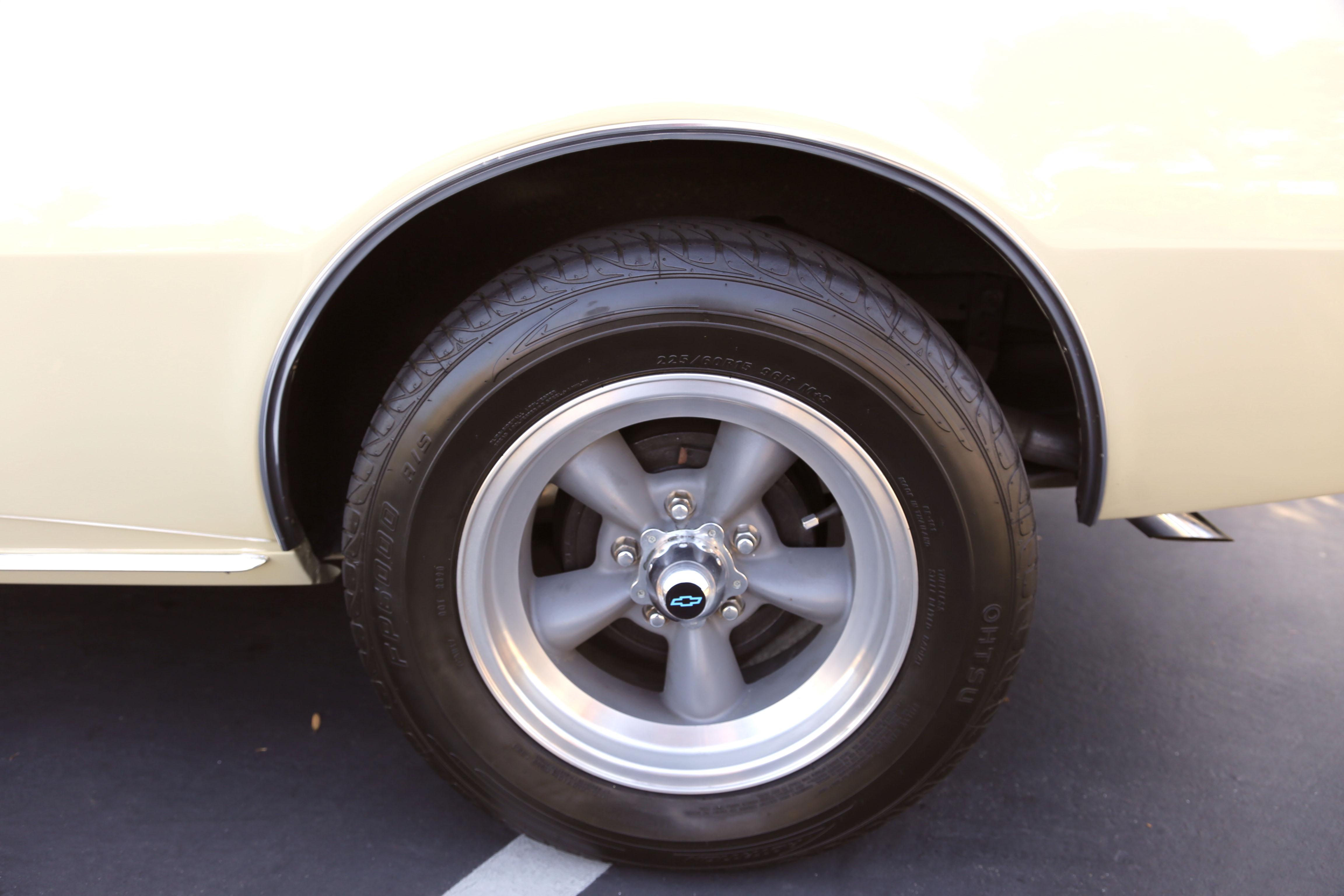 1968 Camaro Odd Options Wheels