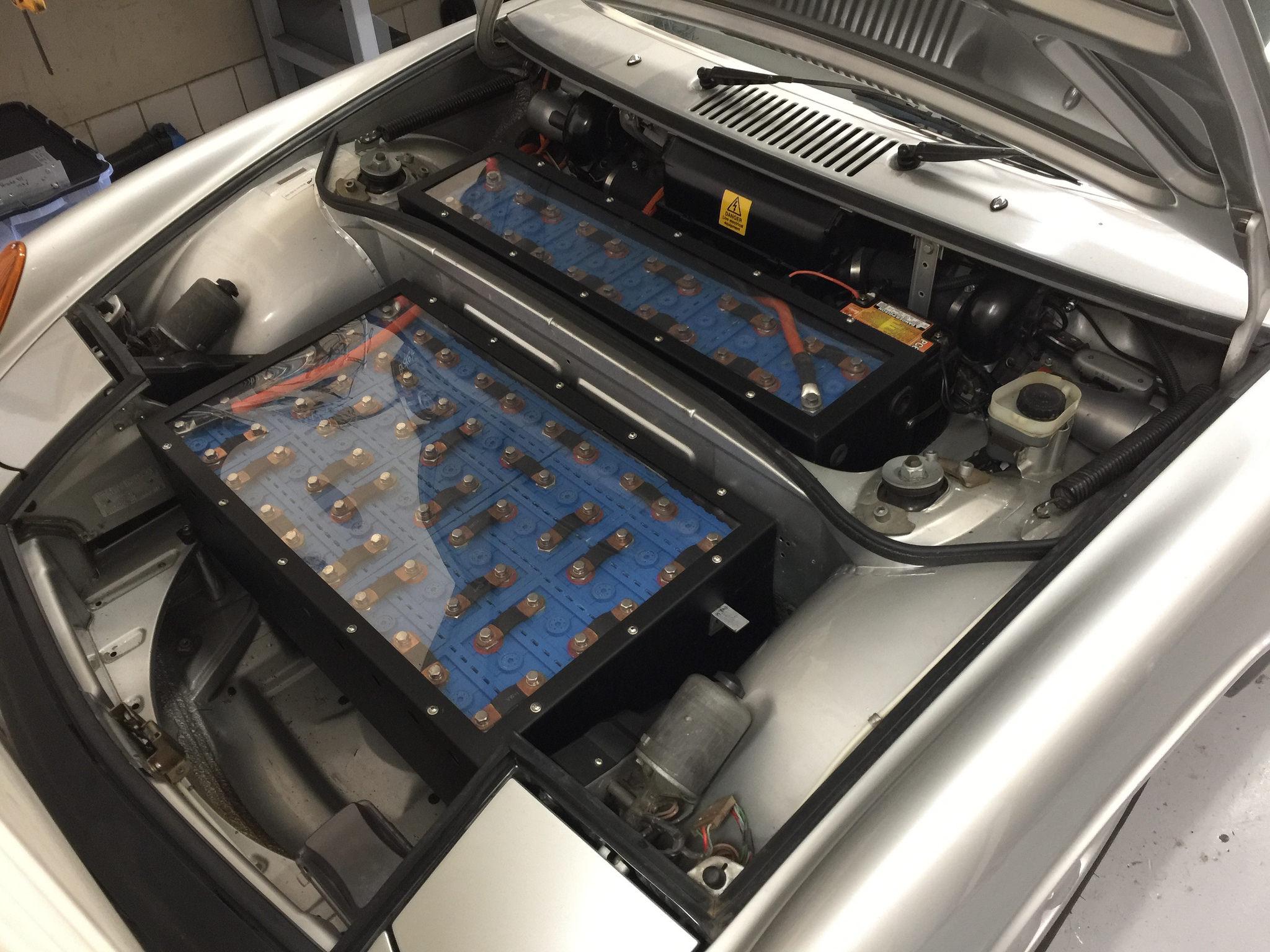1973 Porsche 914 EV conversion motor