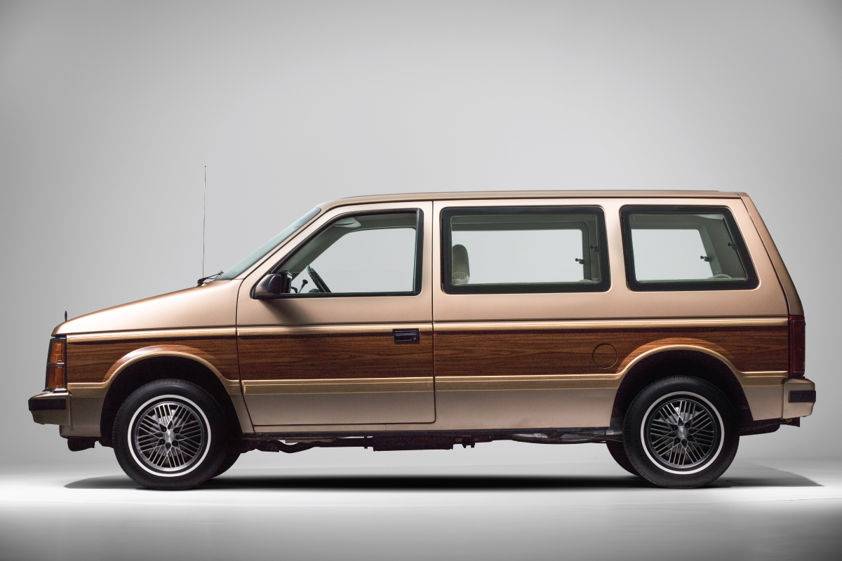 1984 Plymouth Voyager Side view