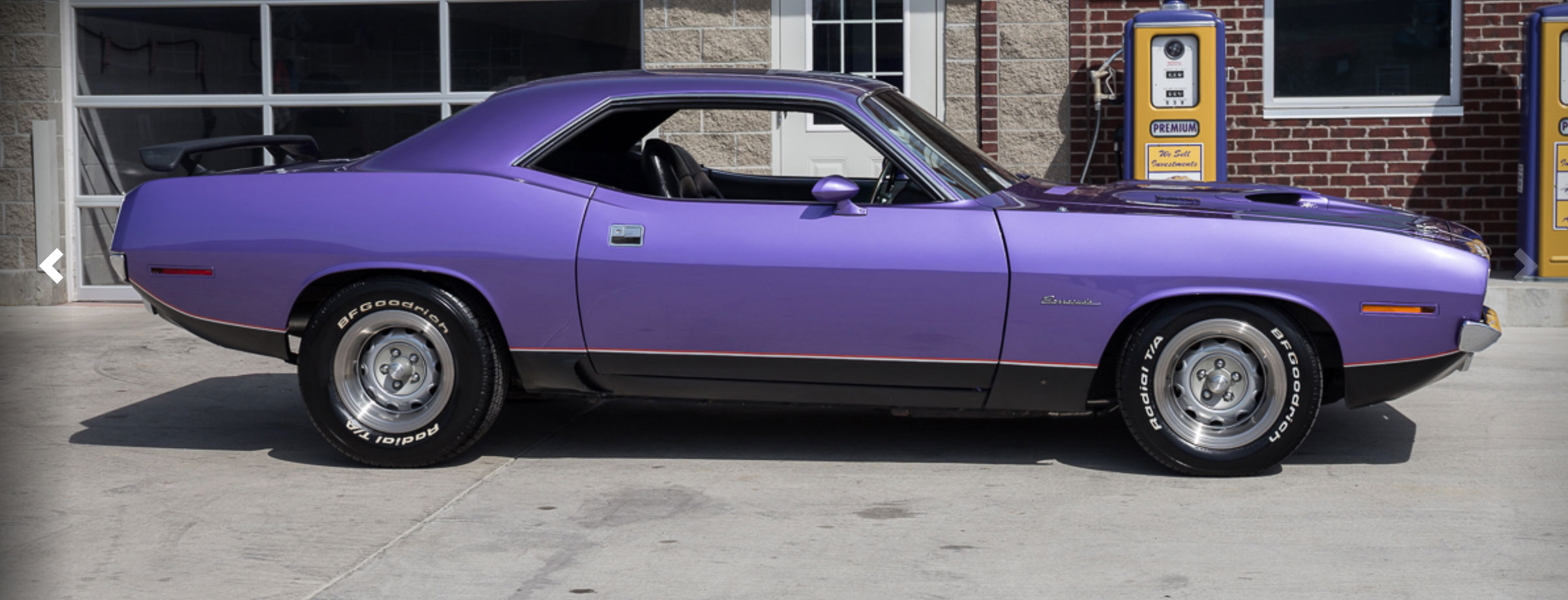 1970 Plymouth Barracuda with Quarter-Panel Scoop