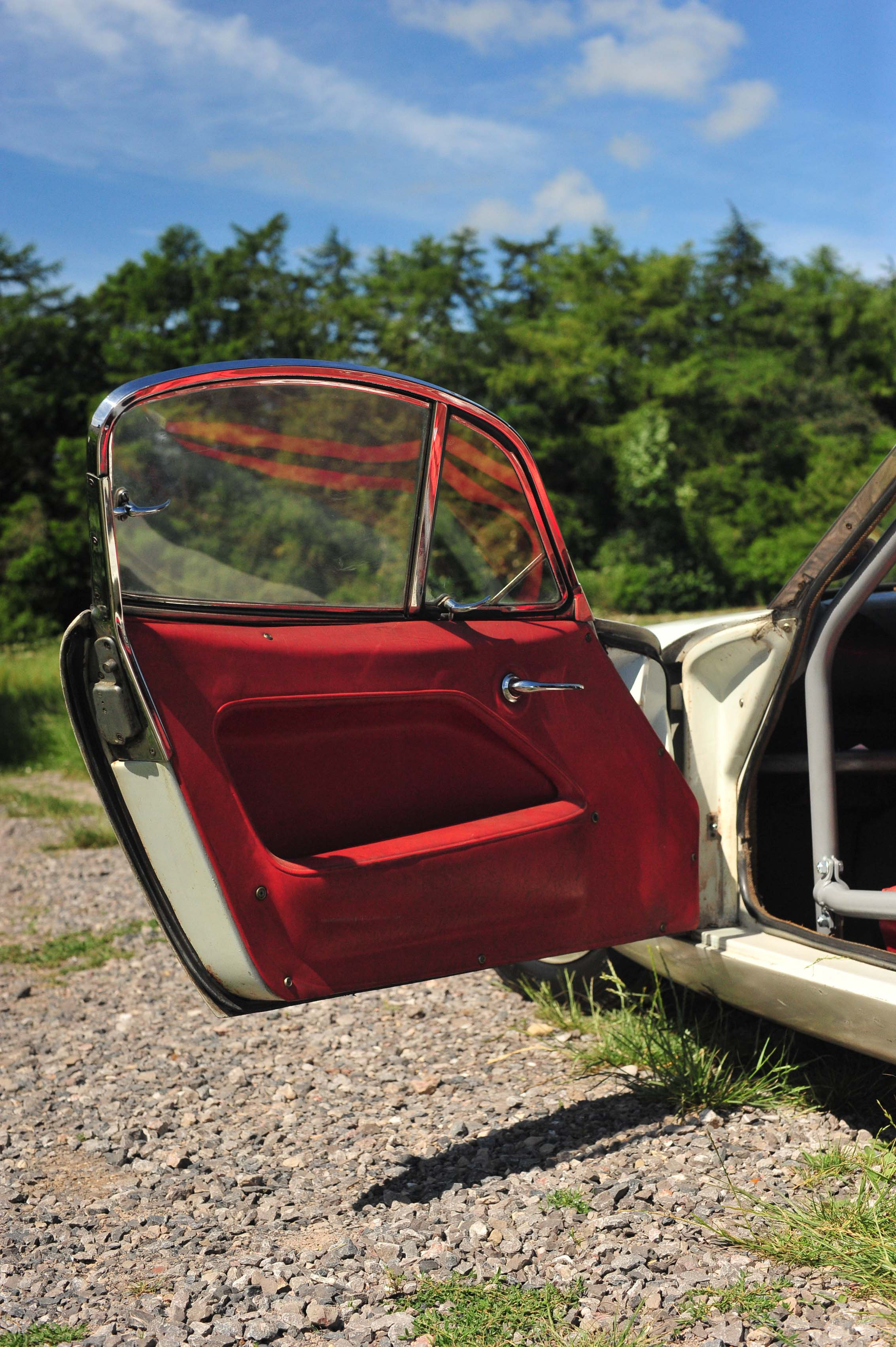 1961 Type 14 Lotus Elite passenger door
