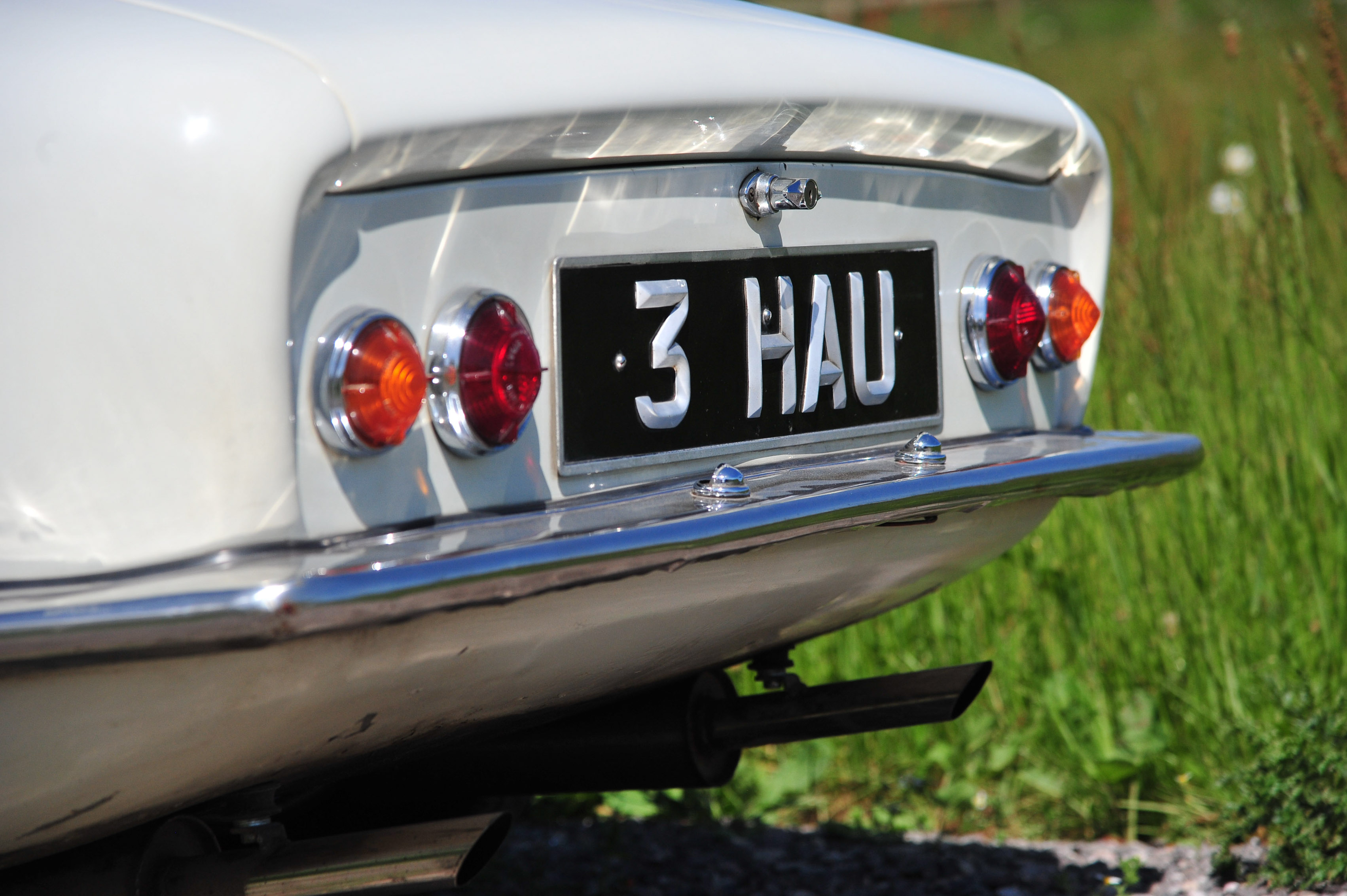 1961 Type 14 Lotus Elite rear lights