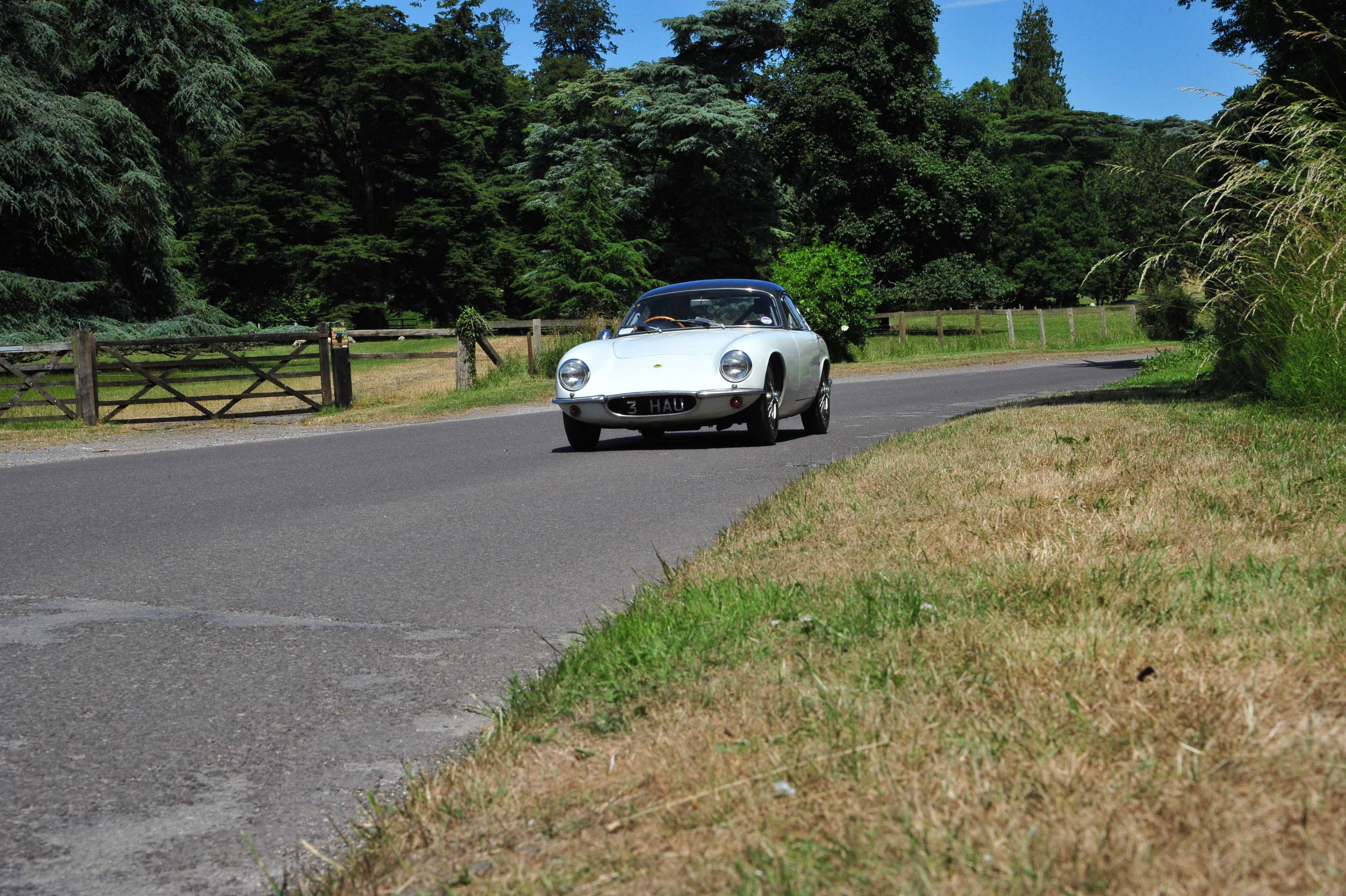 1961 Type 14 Lotus Elite country road