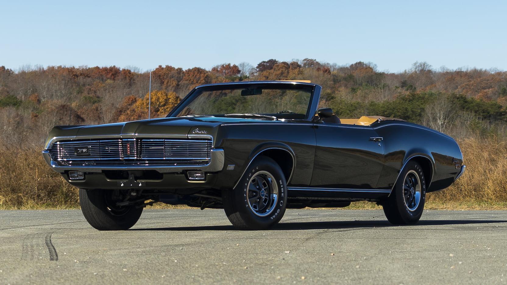 1969 Mercury Cougar brown convertible