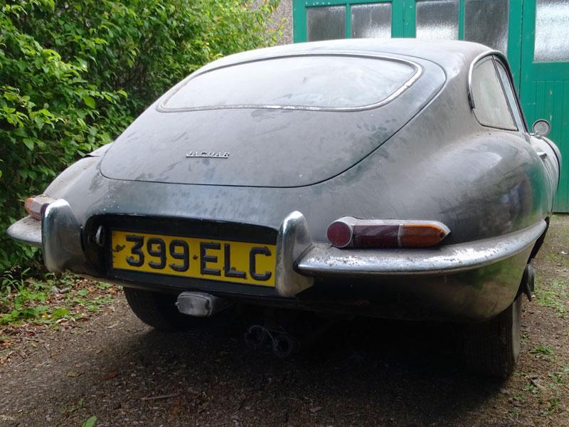 1962 Jaguar E-Type 3.8 Coupe rear bumper