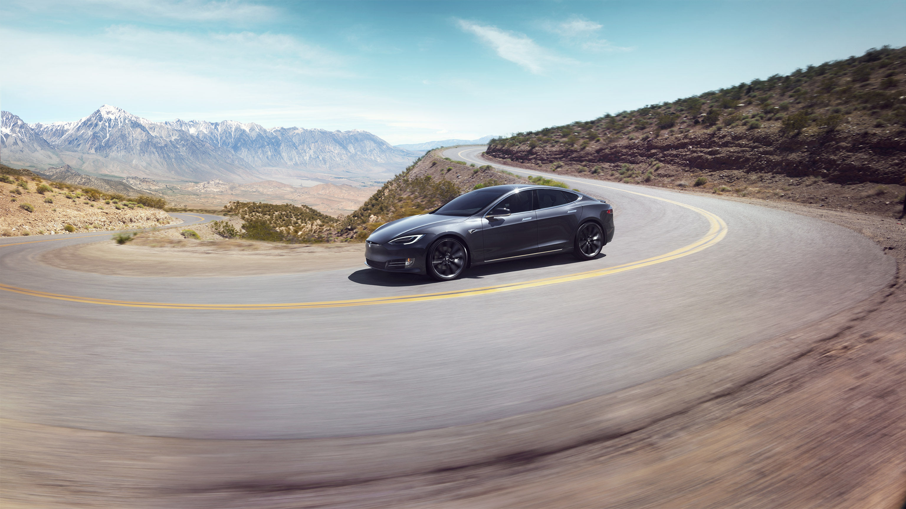 2018 Tesla Model S Desert curve