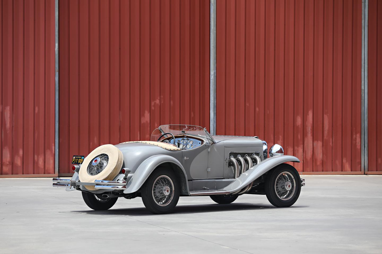 1935 Duesenberg SSJ rear 3/4