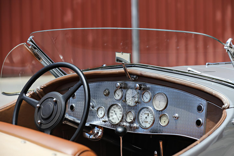 1935 Duesenberg SSJ interior