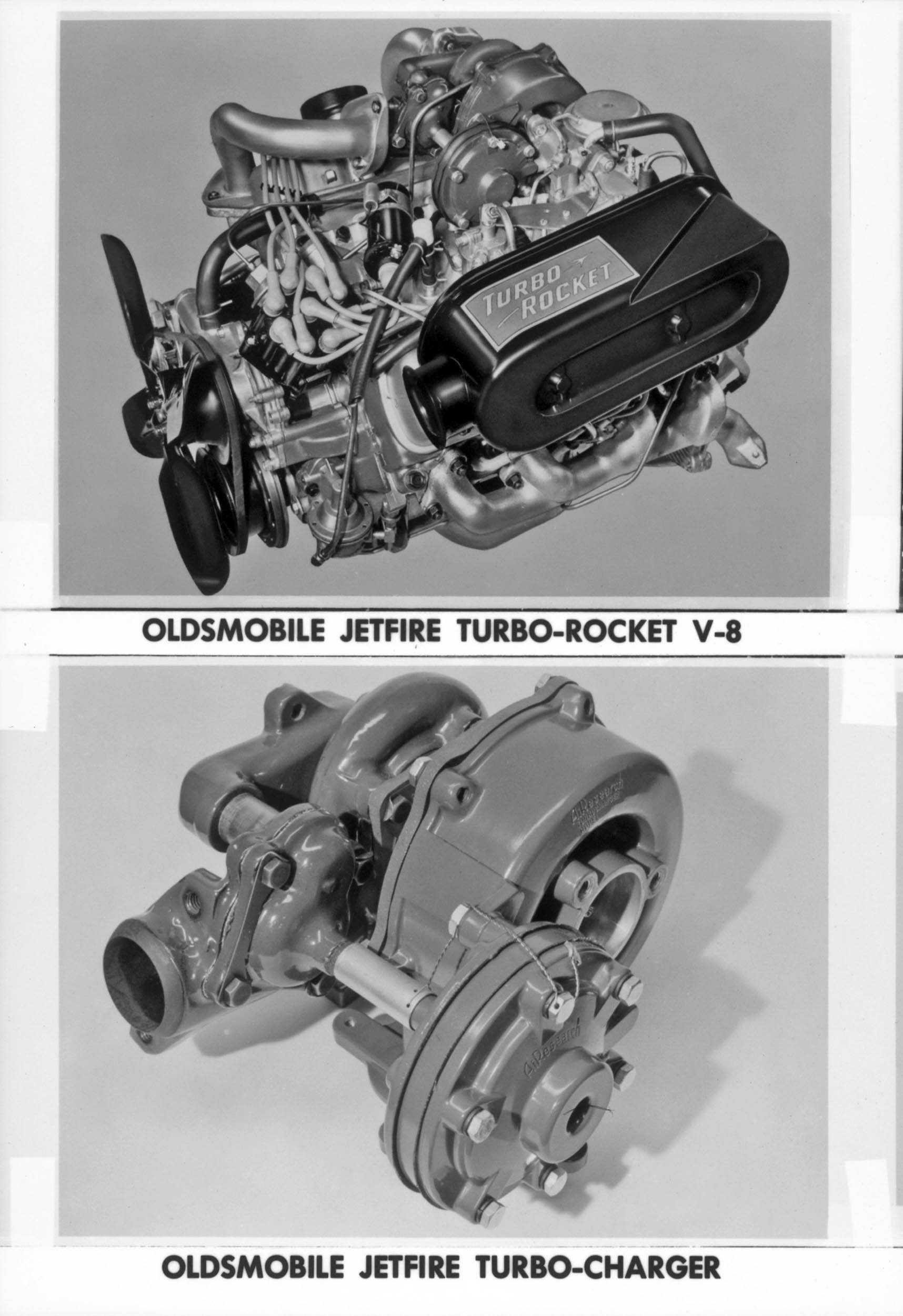 1963 Oldsmobile Jetfire Rocket V-8 and its factory turbocharger