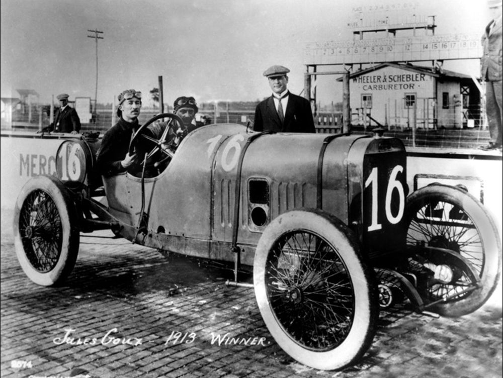 Jules Goux and the DOHC Peugeot