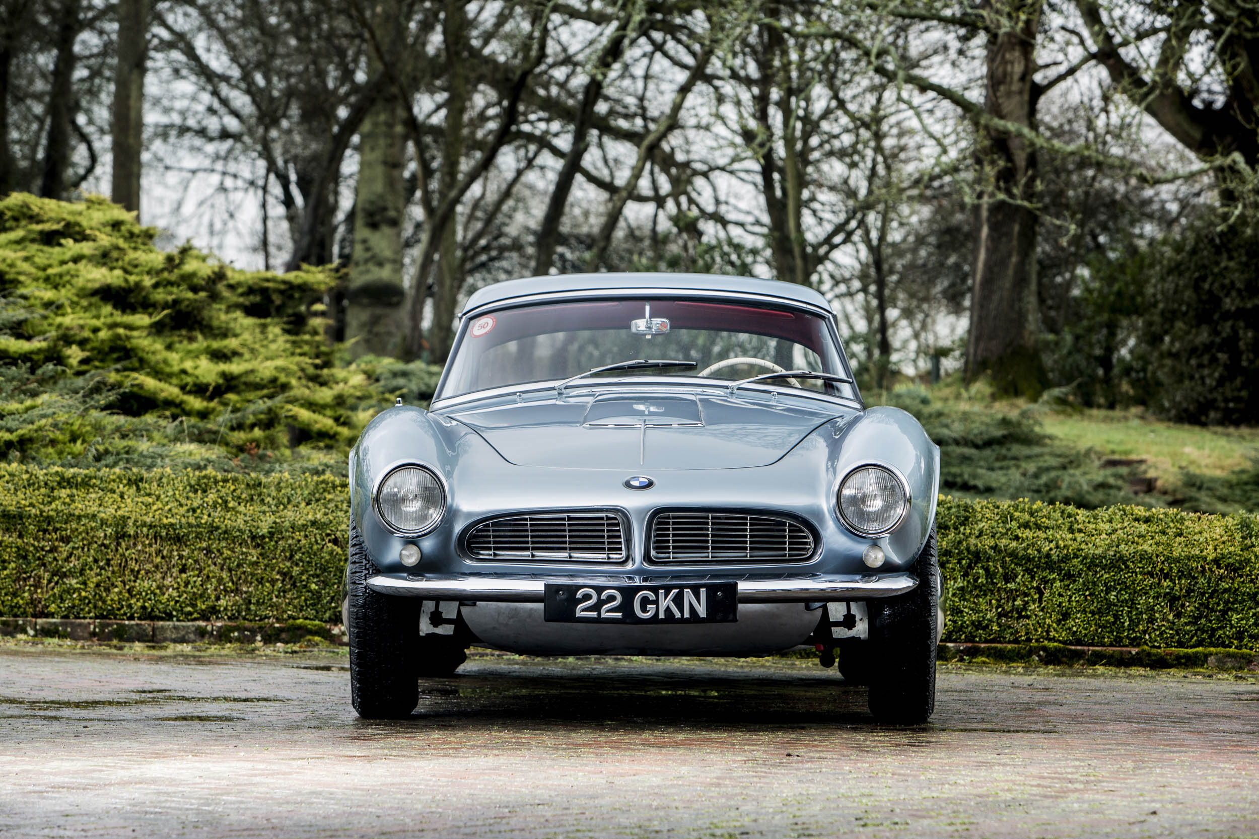 John Surtees' 1957 BMW 507 front