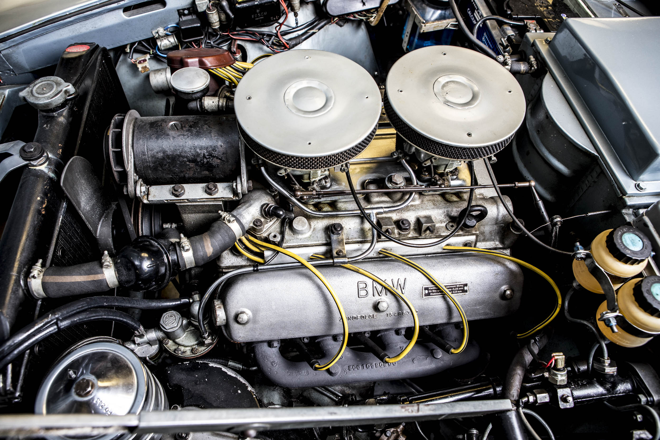 John Surtees' 1957 BMW 507 engine