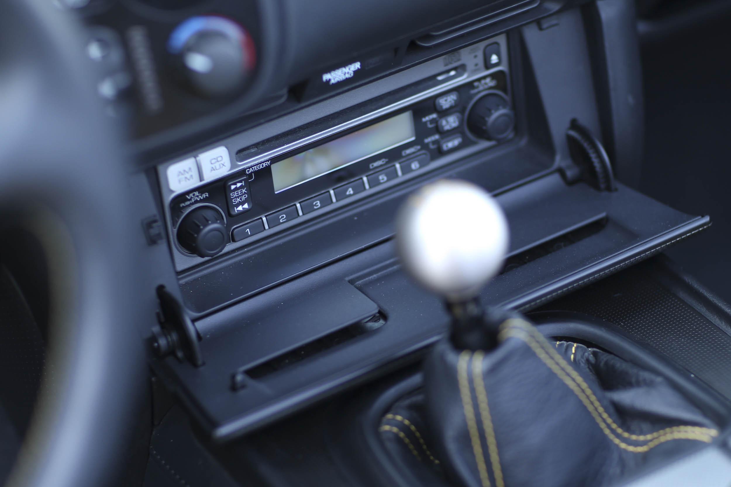 Honda S2000 radio