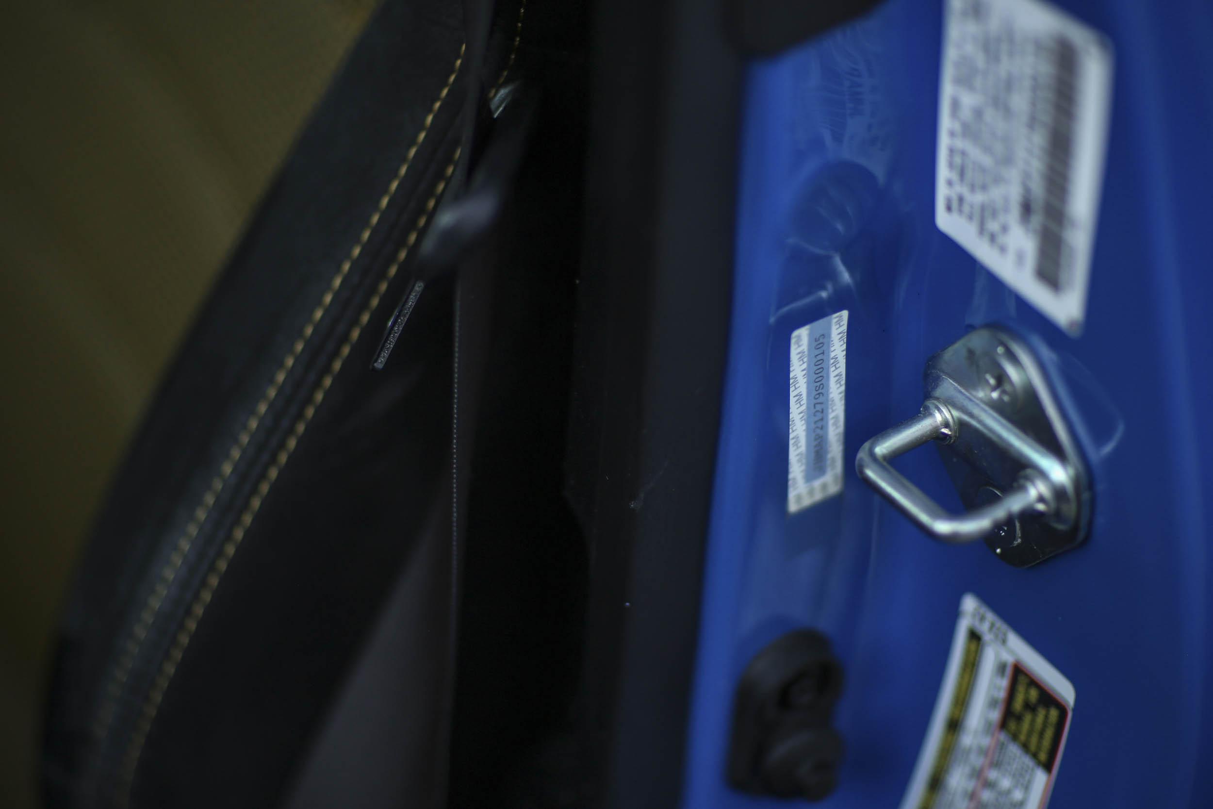 Honda S2000 vin sticker door jamb