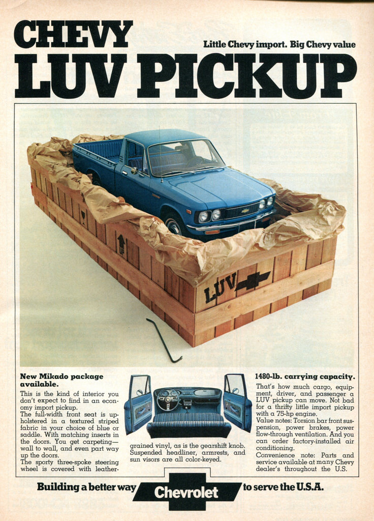 Chevrolet LUV pickup