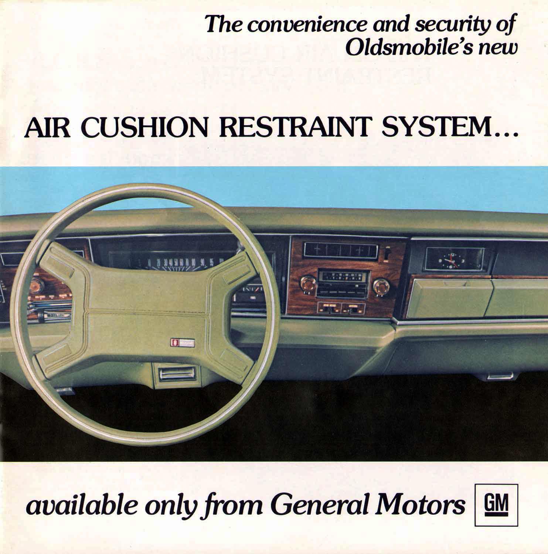 Oldsmobile Airbag Ad