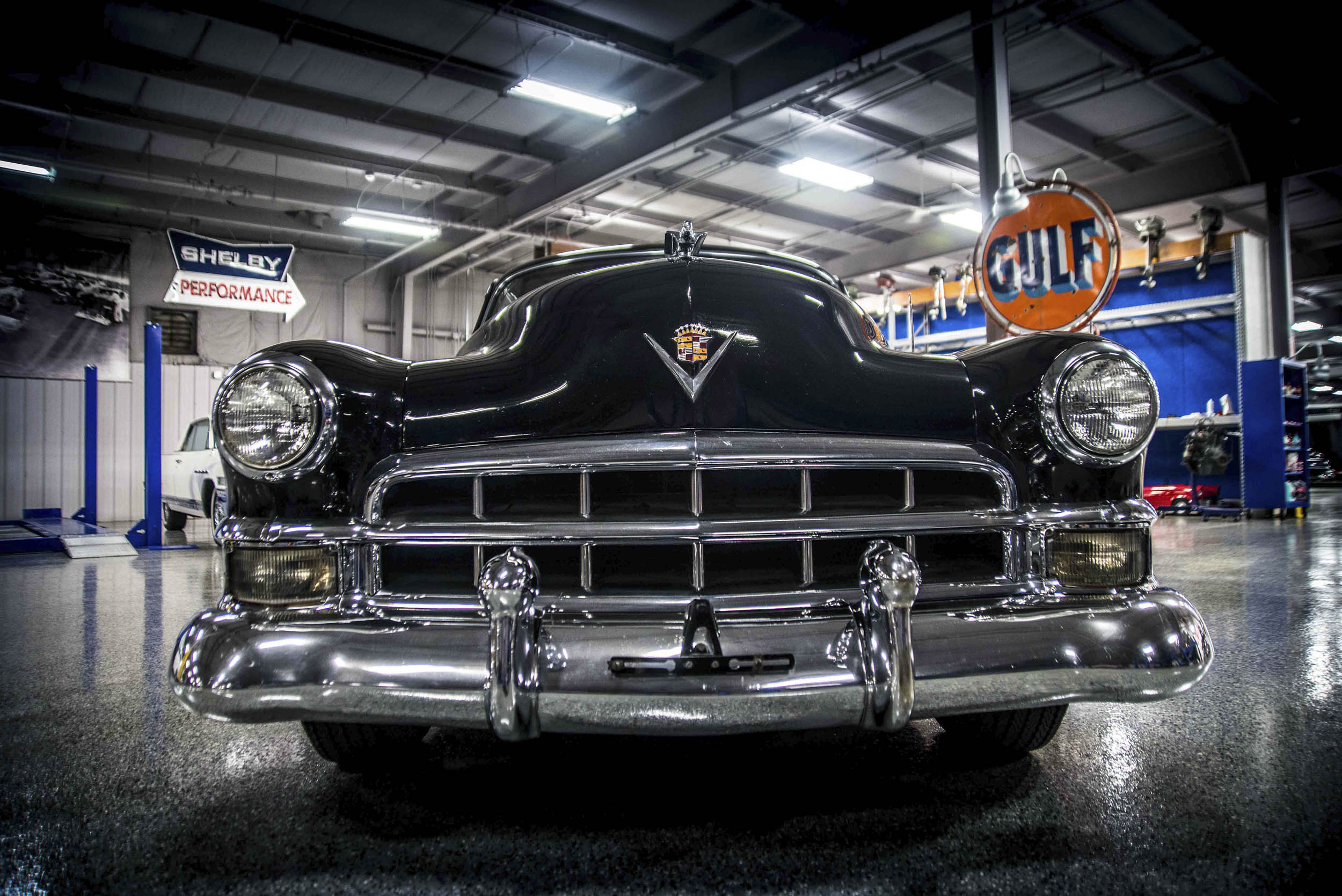 1949 cadillac grille