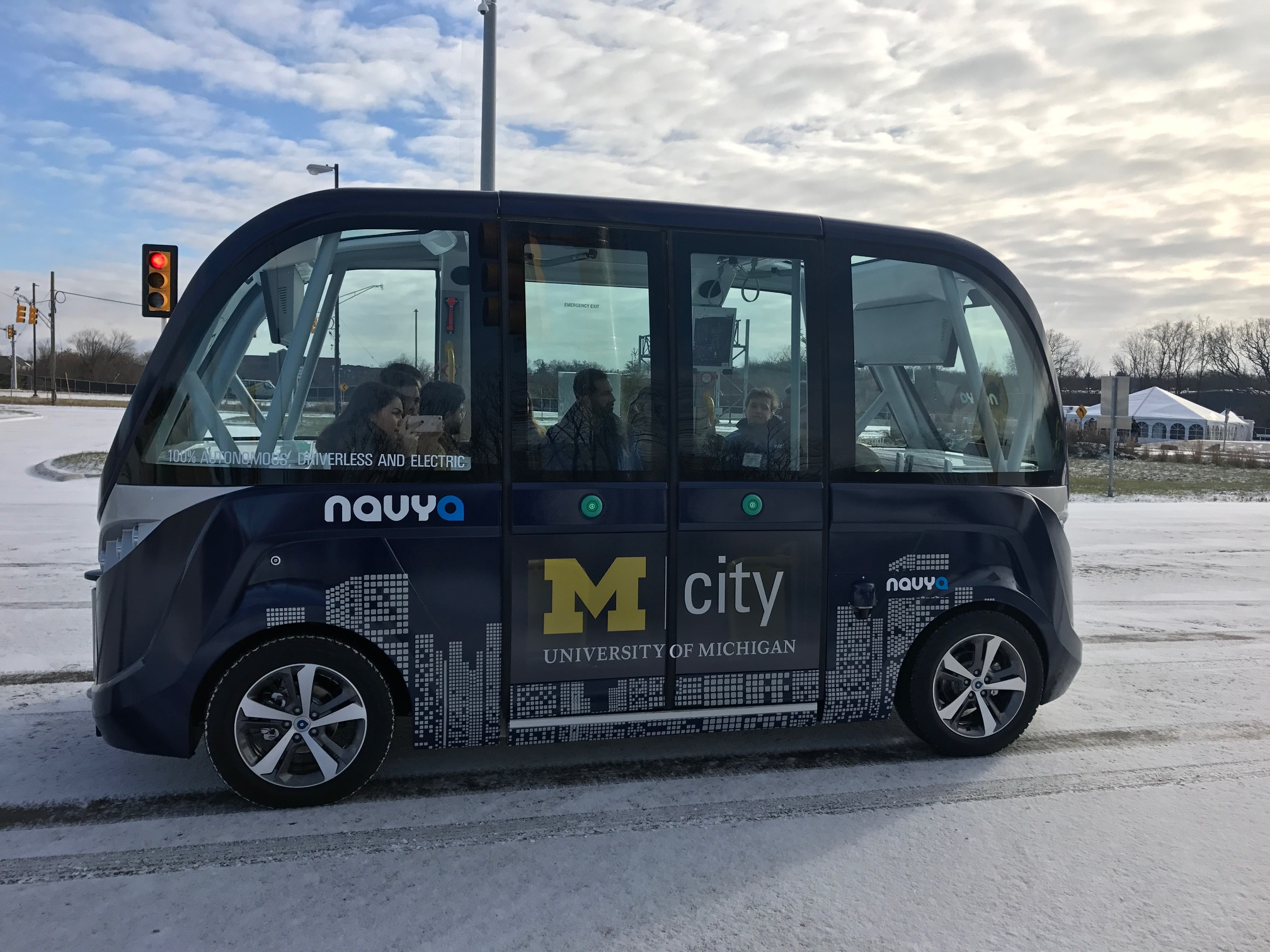 Nayva already operates autonomous self-driving shuttles in several cities worldwide.