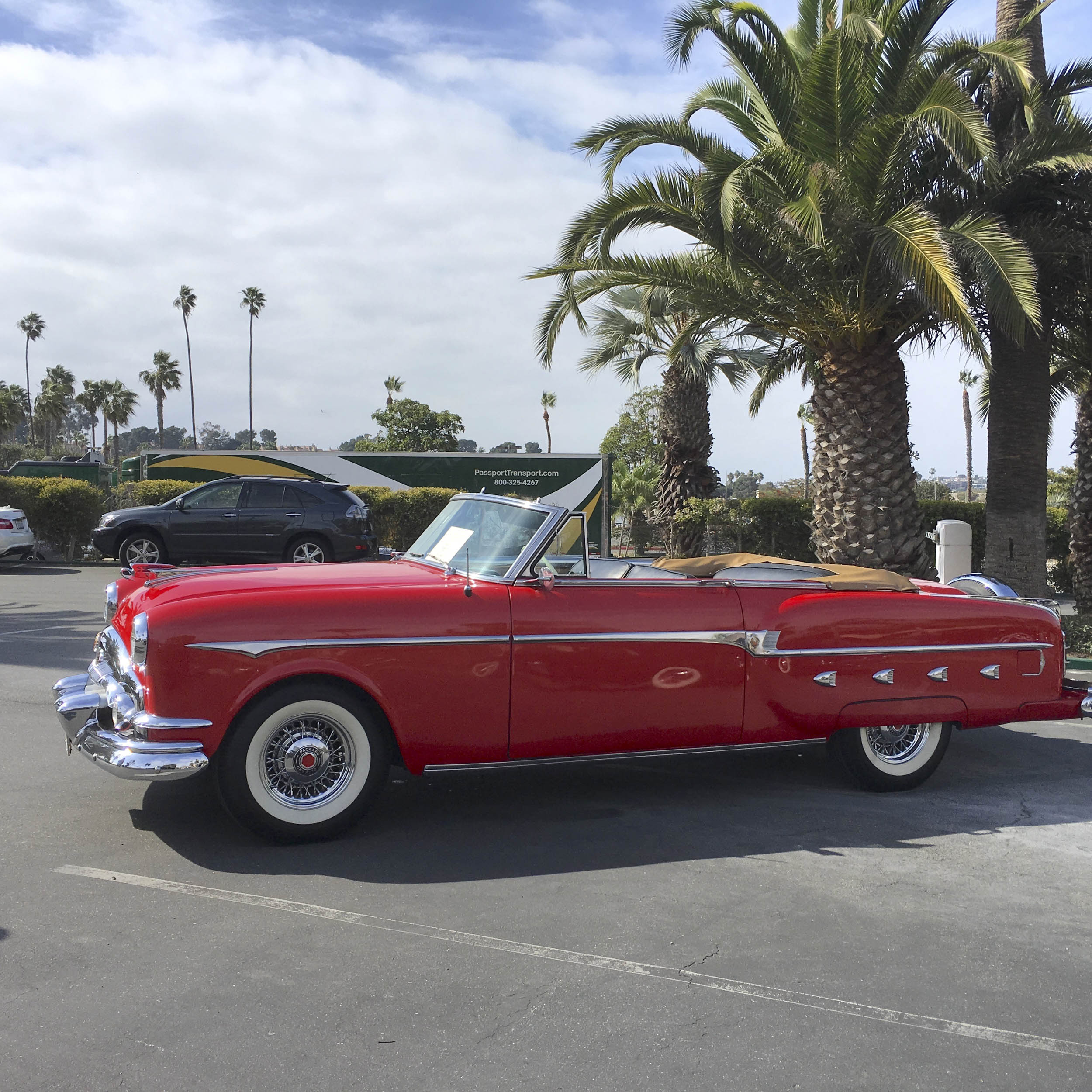 1953 Packard convertible