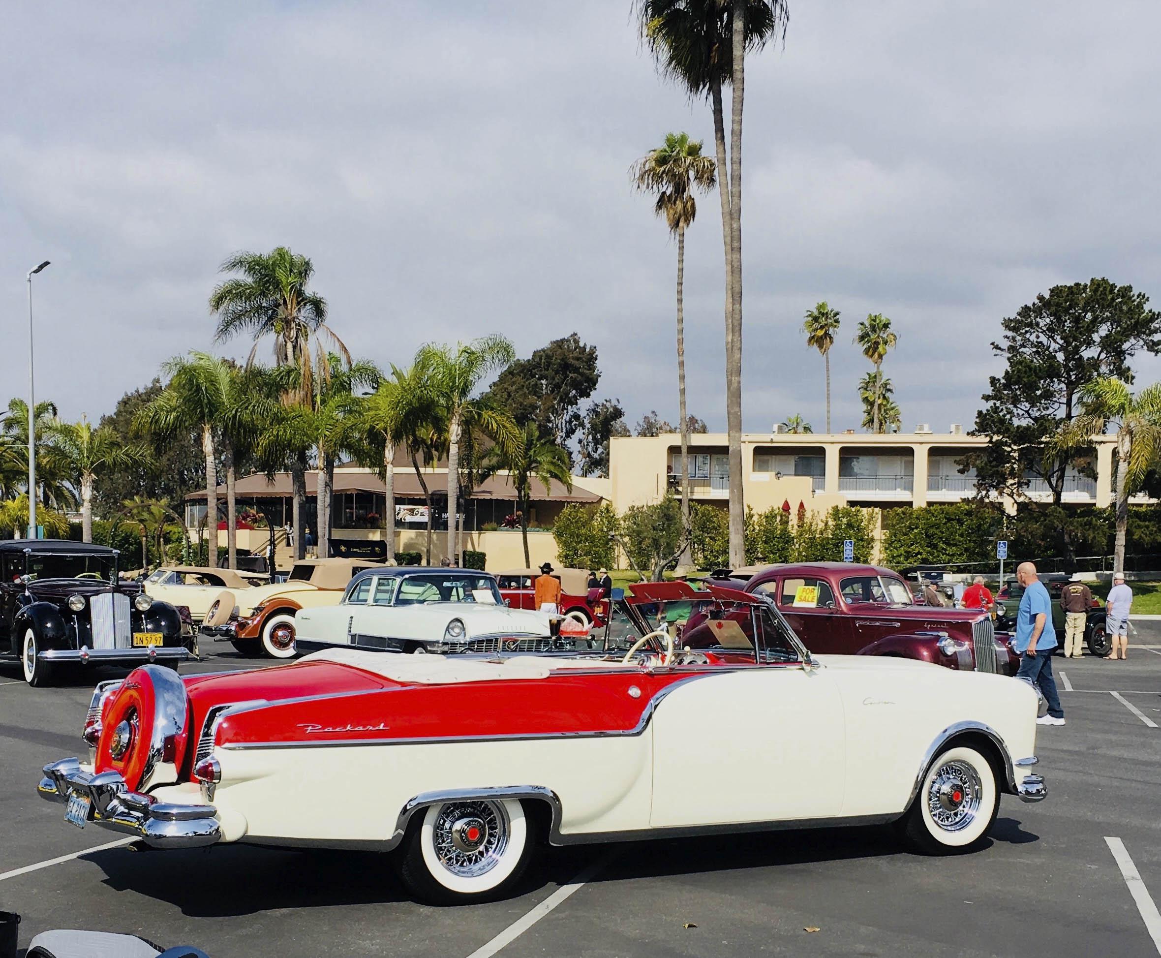 1954 Packard Caribbean rear 3/4