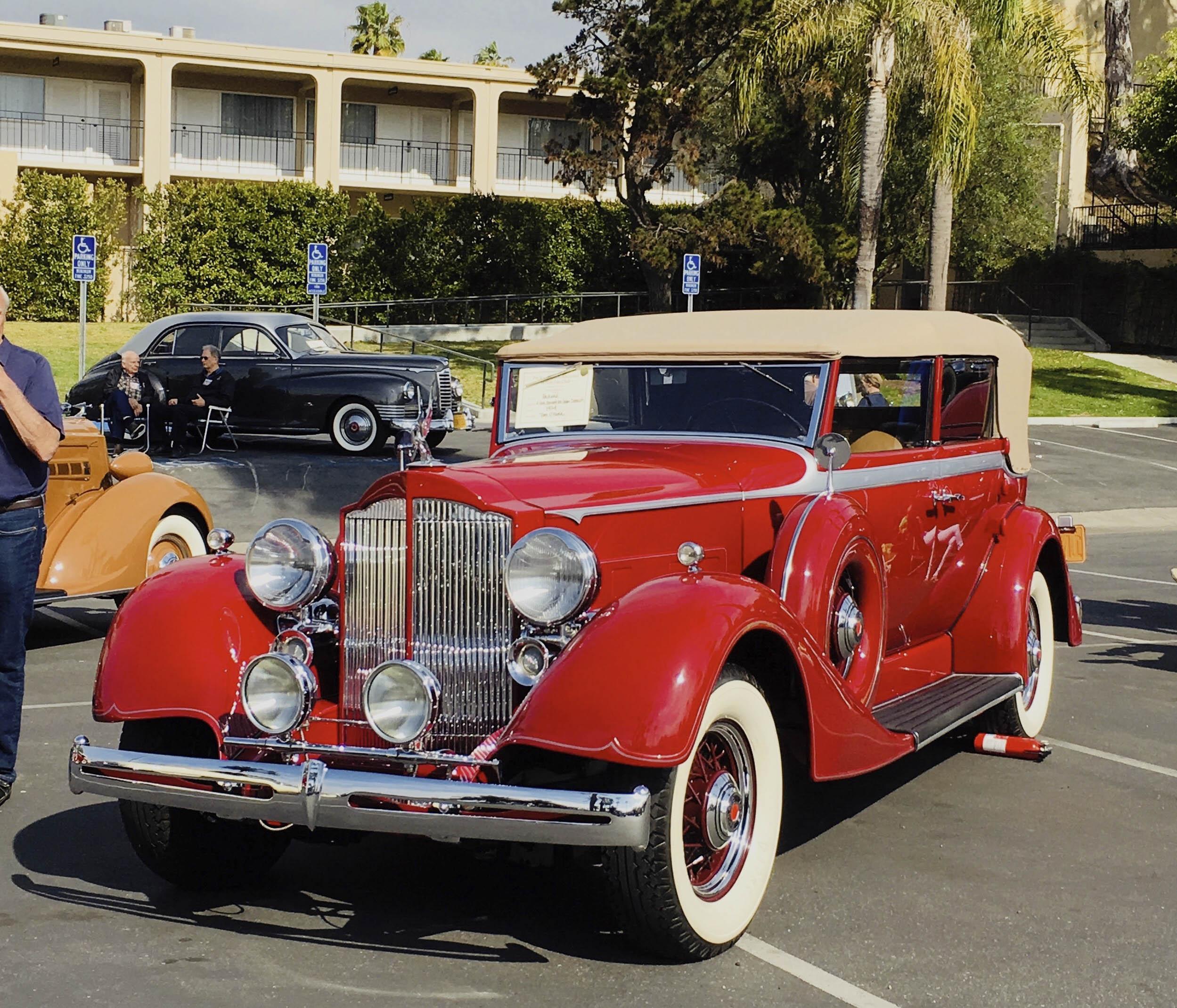 1934 Packard 1104 Dietrich convertible sedan