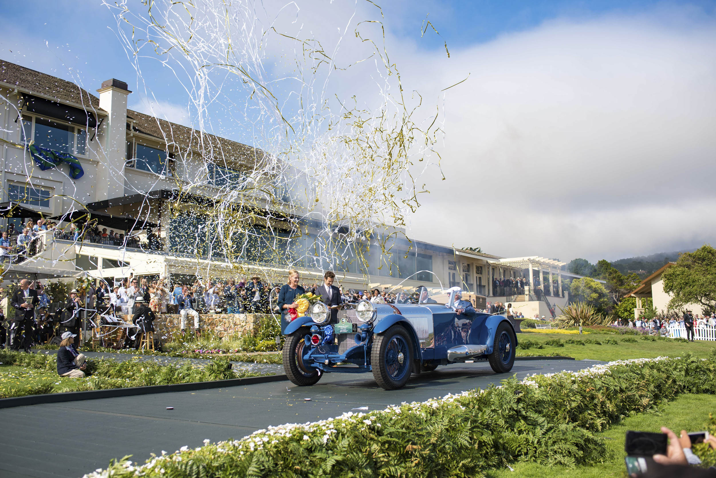 Pebble Beach Concours d'Elegance best in show
