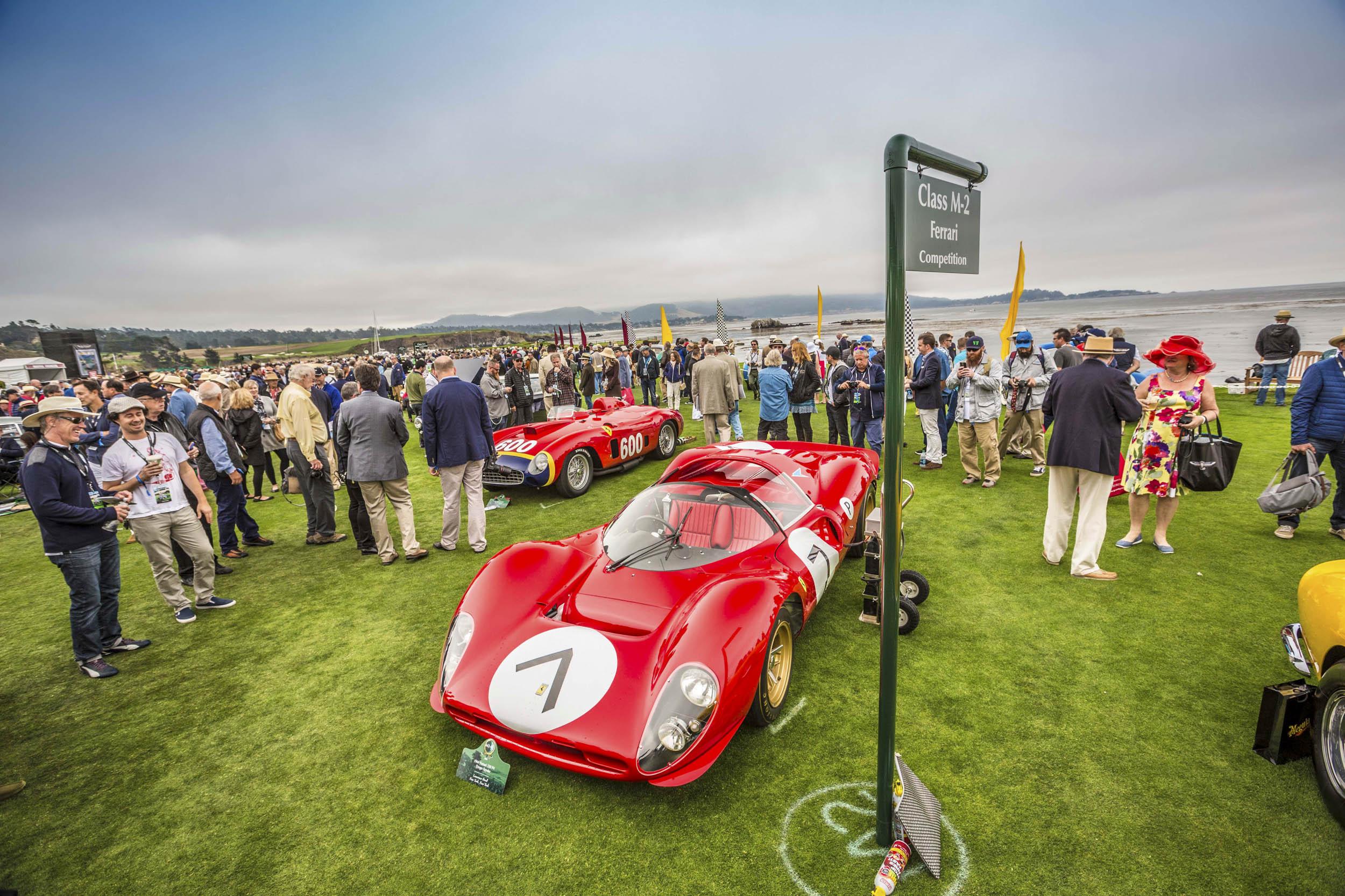 Pebble Beach Concours d'Elegance Ferrari