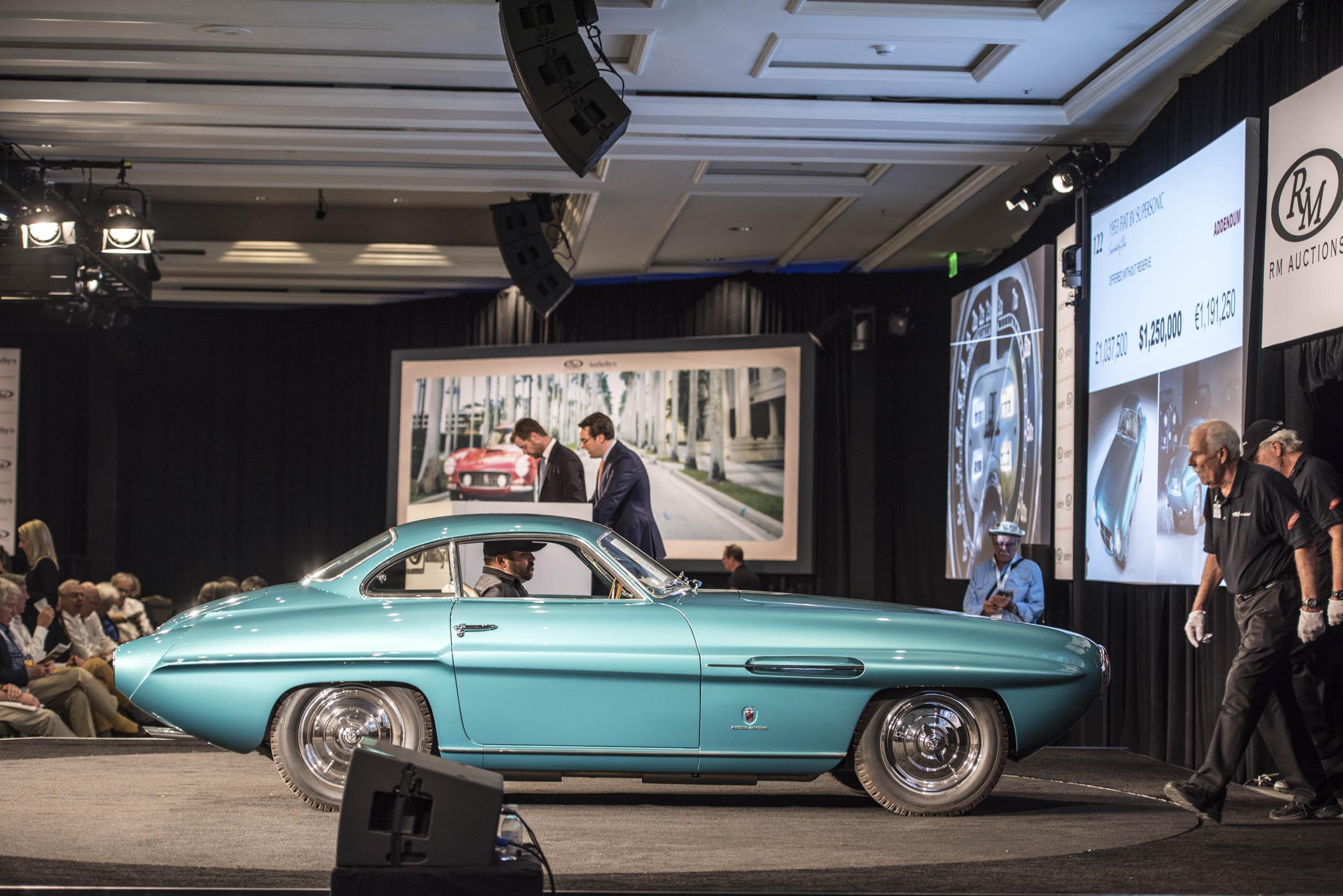 RM Sotheby's Monterey car sale