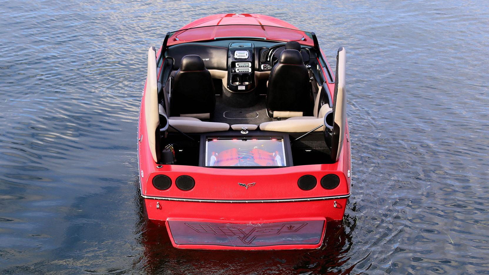 2008 Malibu Corvette Z06 rear hatches