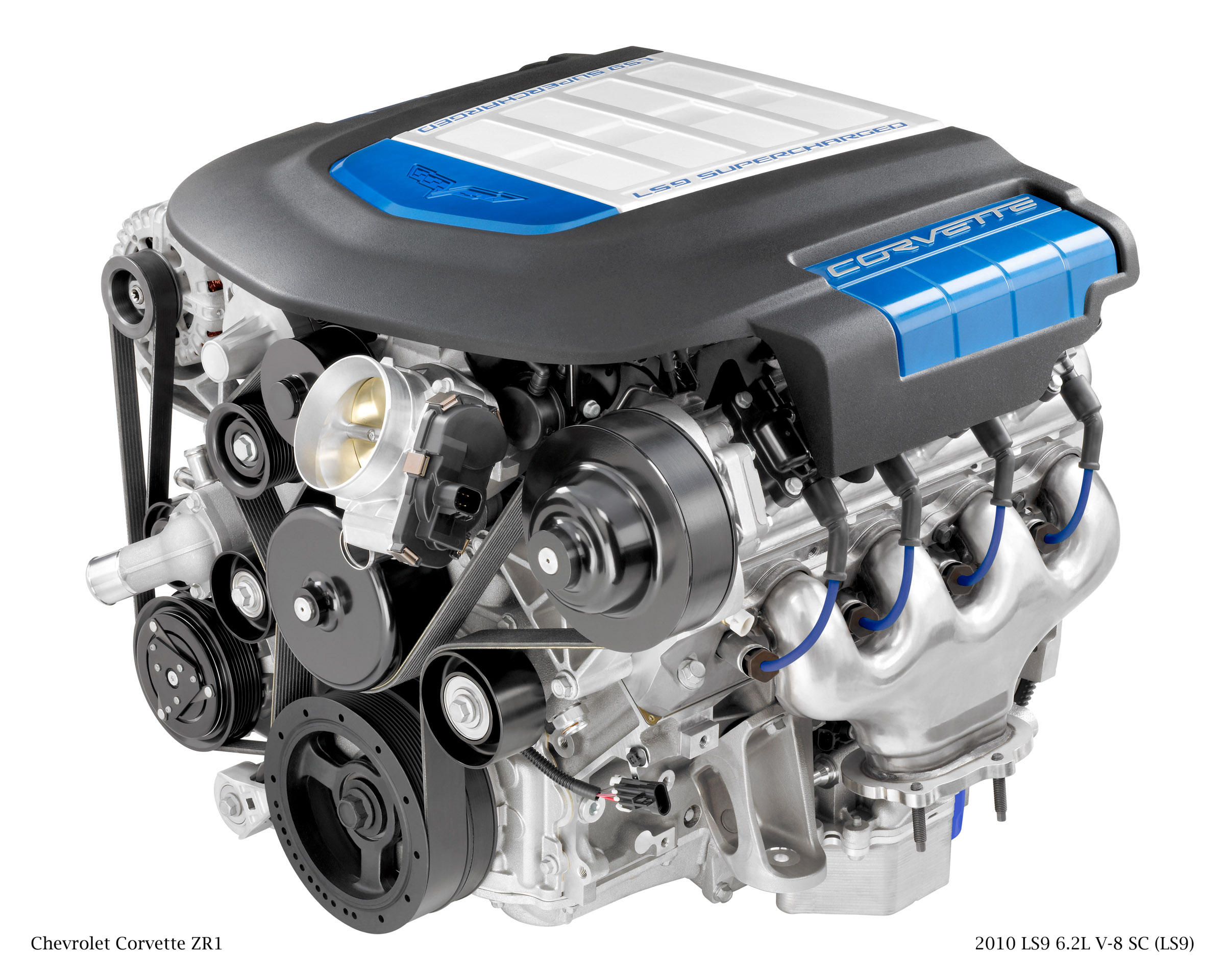 The LS9 Engine from the 2009 Chevrolet Corvette ZR1