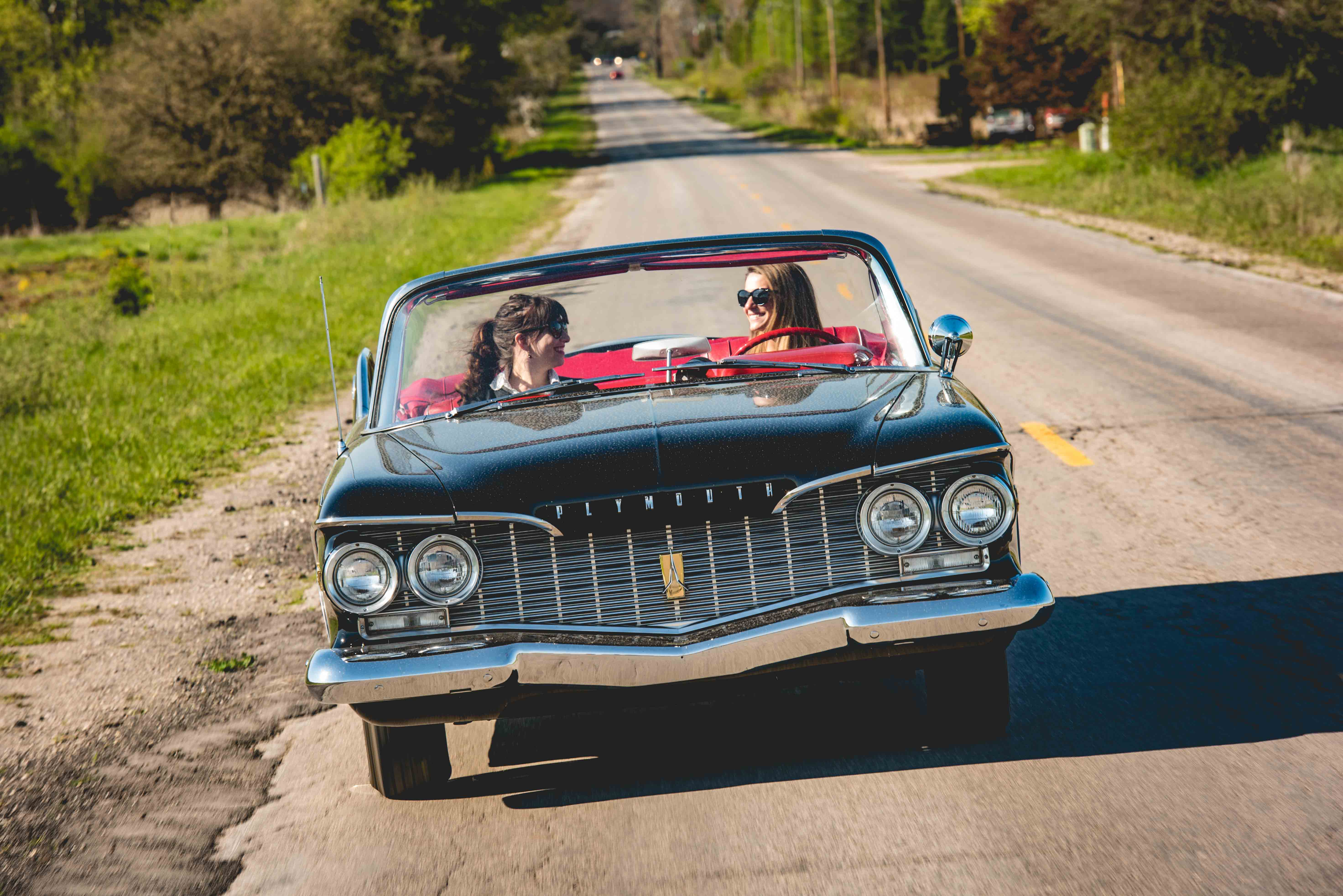 1960 Plymouth Fury Front driving