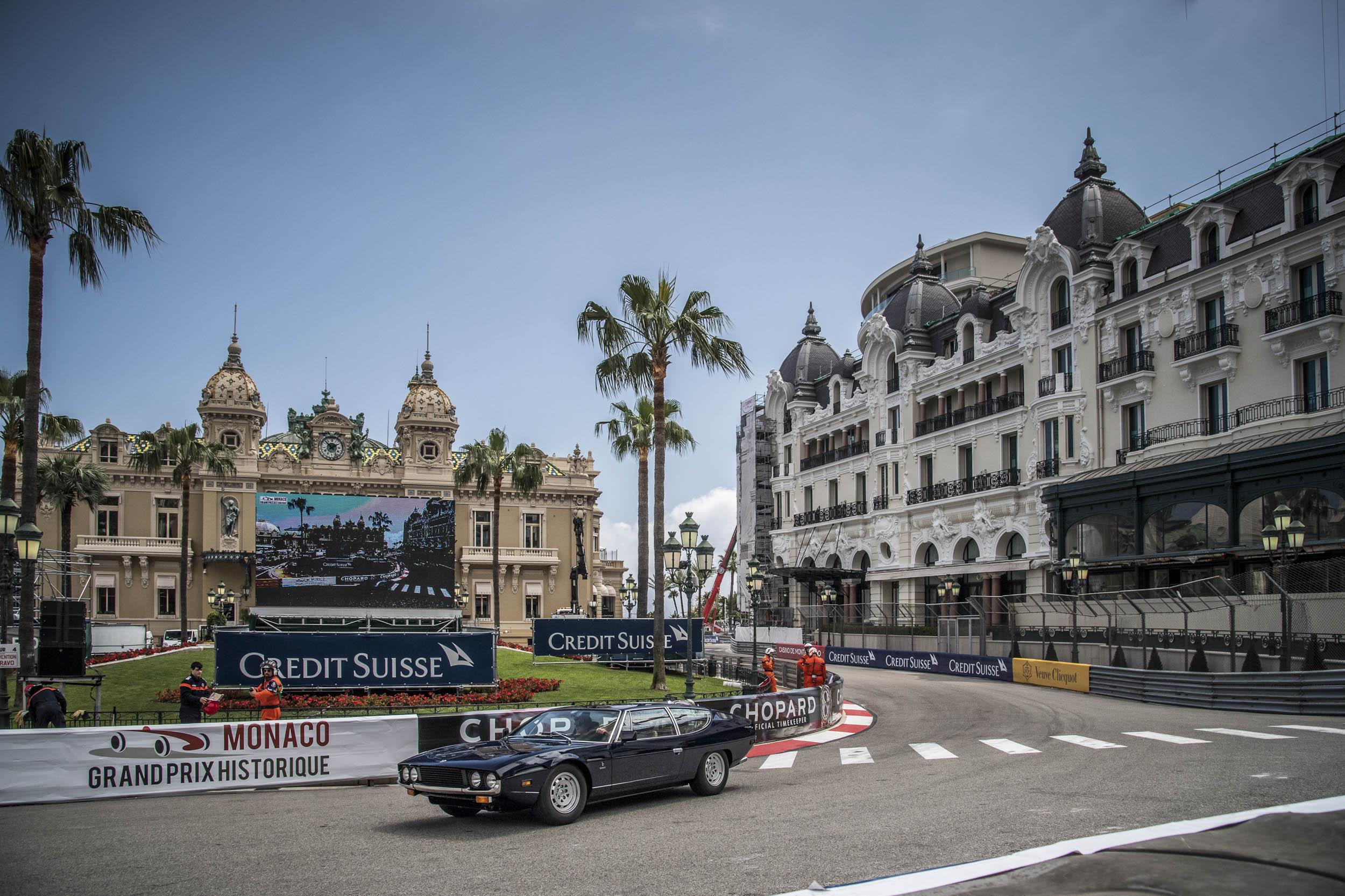 Lamborghini Espada at Monaco Grand Prix Historique 2018