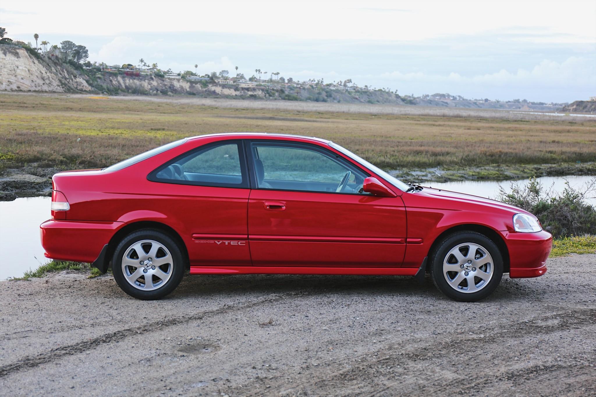 2000 Honda Civic Si profile