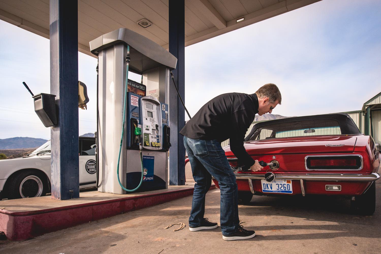 1967 Camaro fill up gas tank