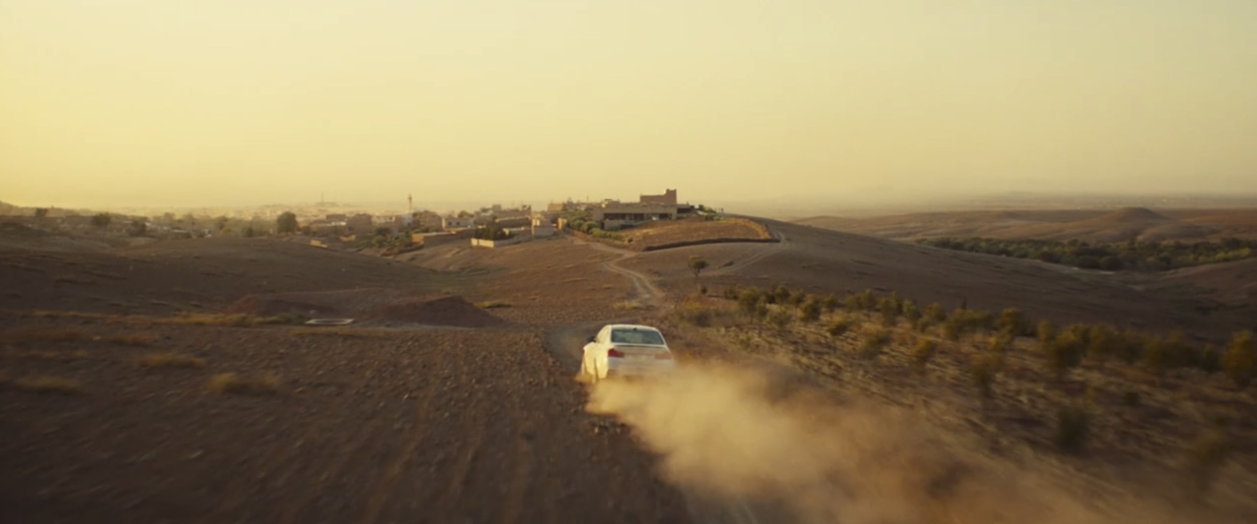 Mission Impossible: Rogue Nation bmw across desert