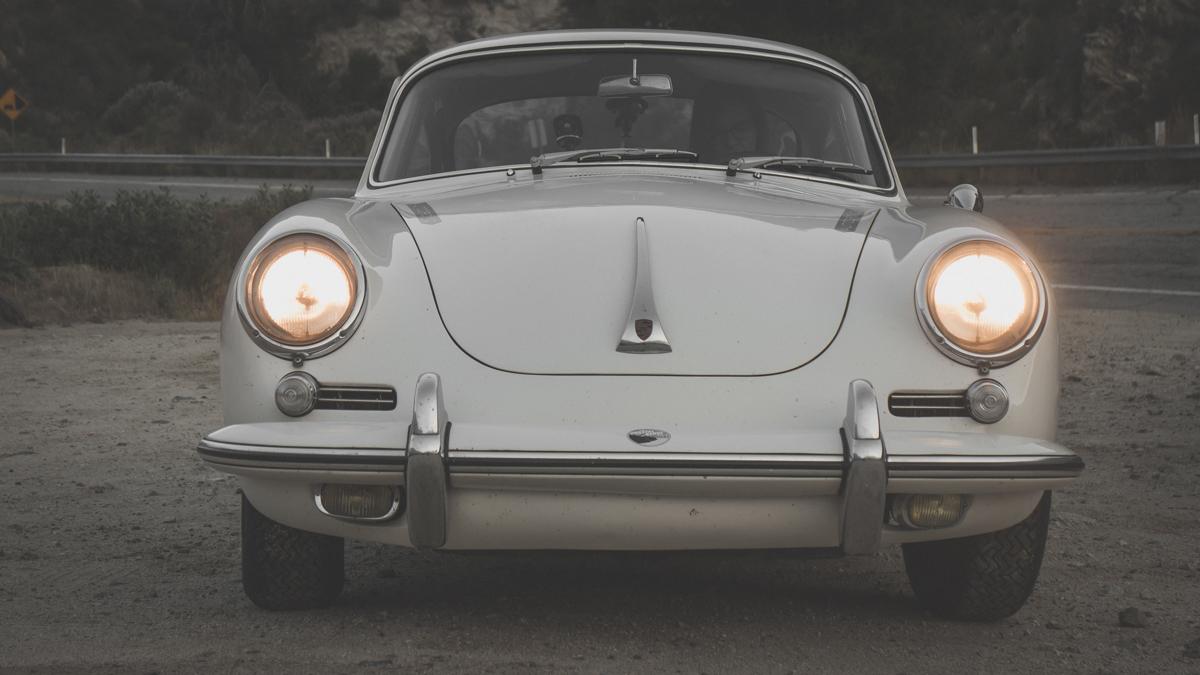 1964 Porsche 356 front