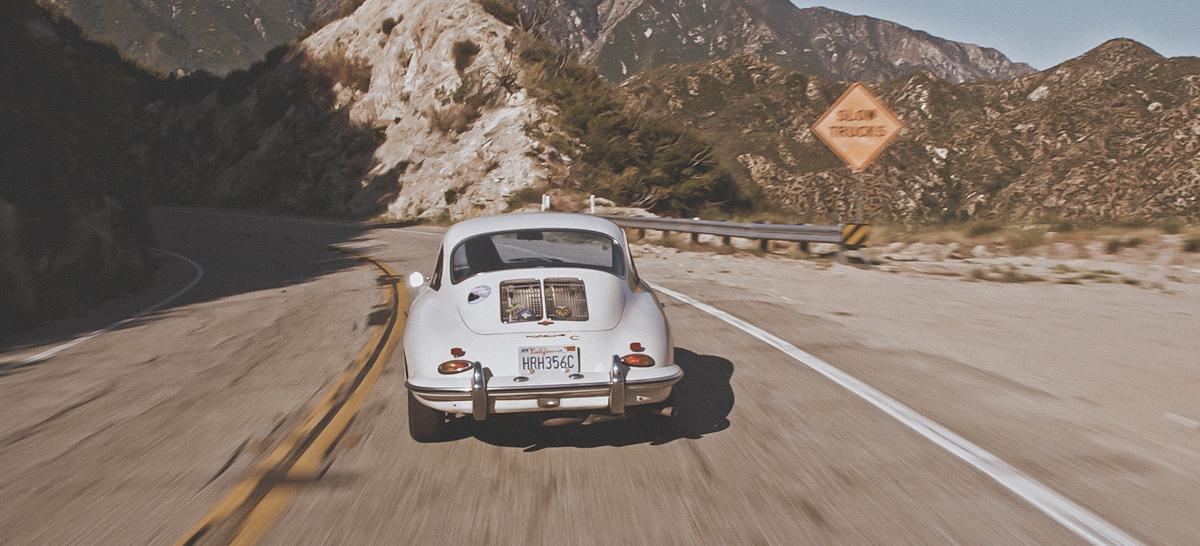 1964 Porsche 356 rear
