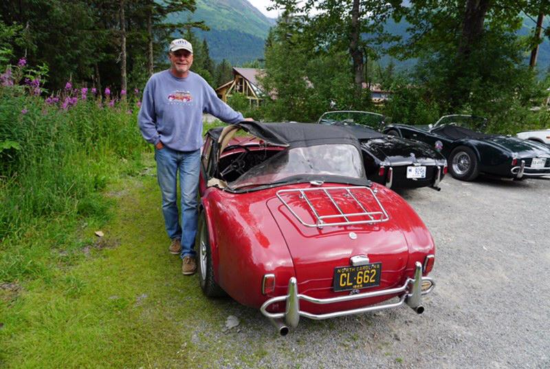 1965 Shelby cobra tom cotter bear top