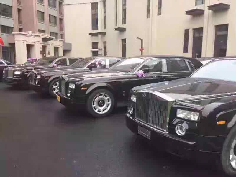 Chinese wedding cars