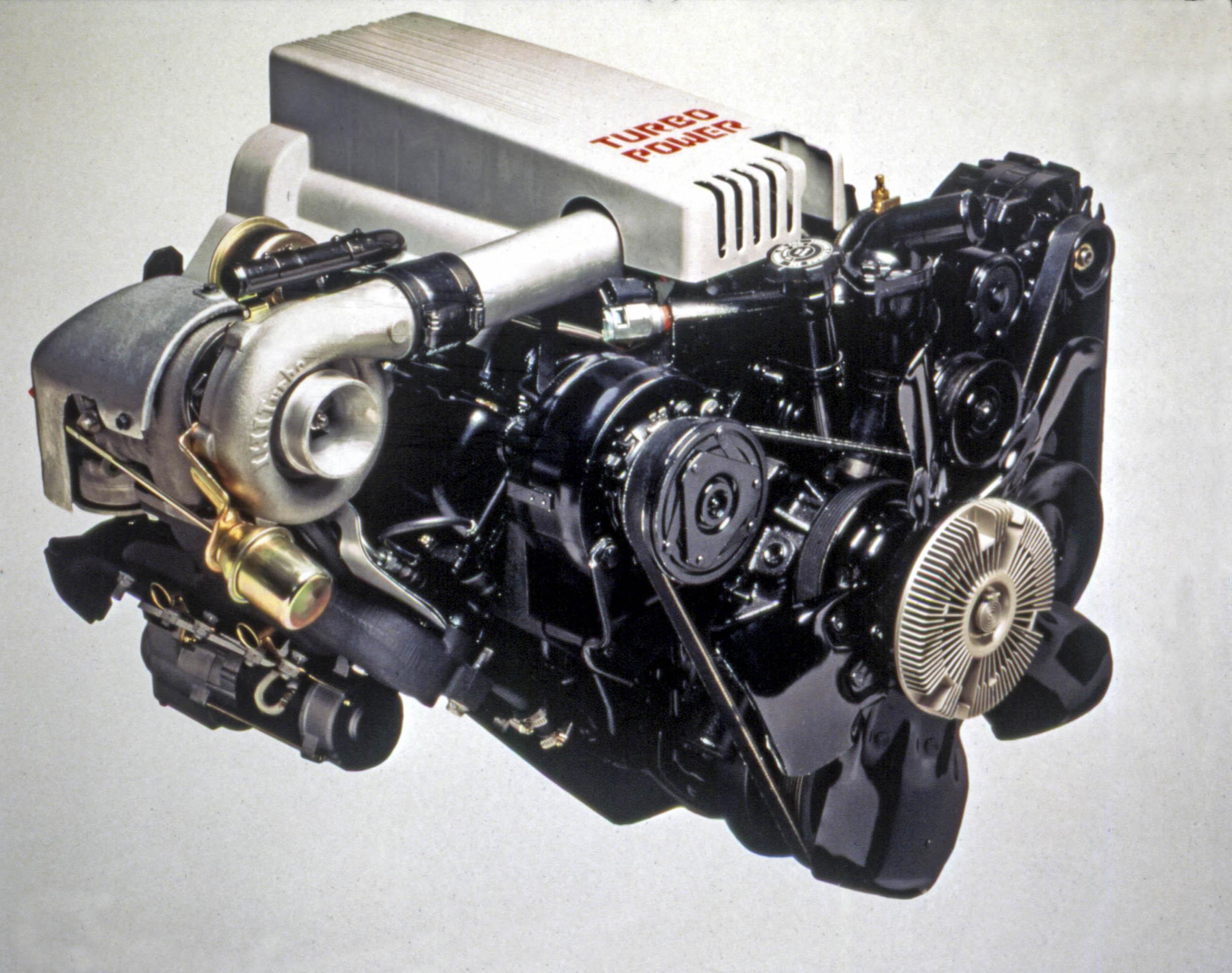 1991 Syclone engine