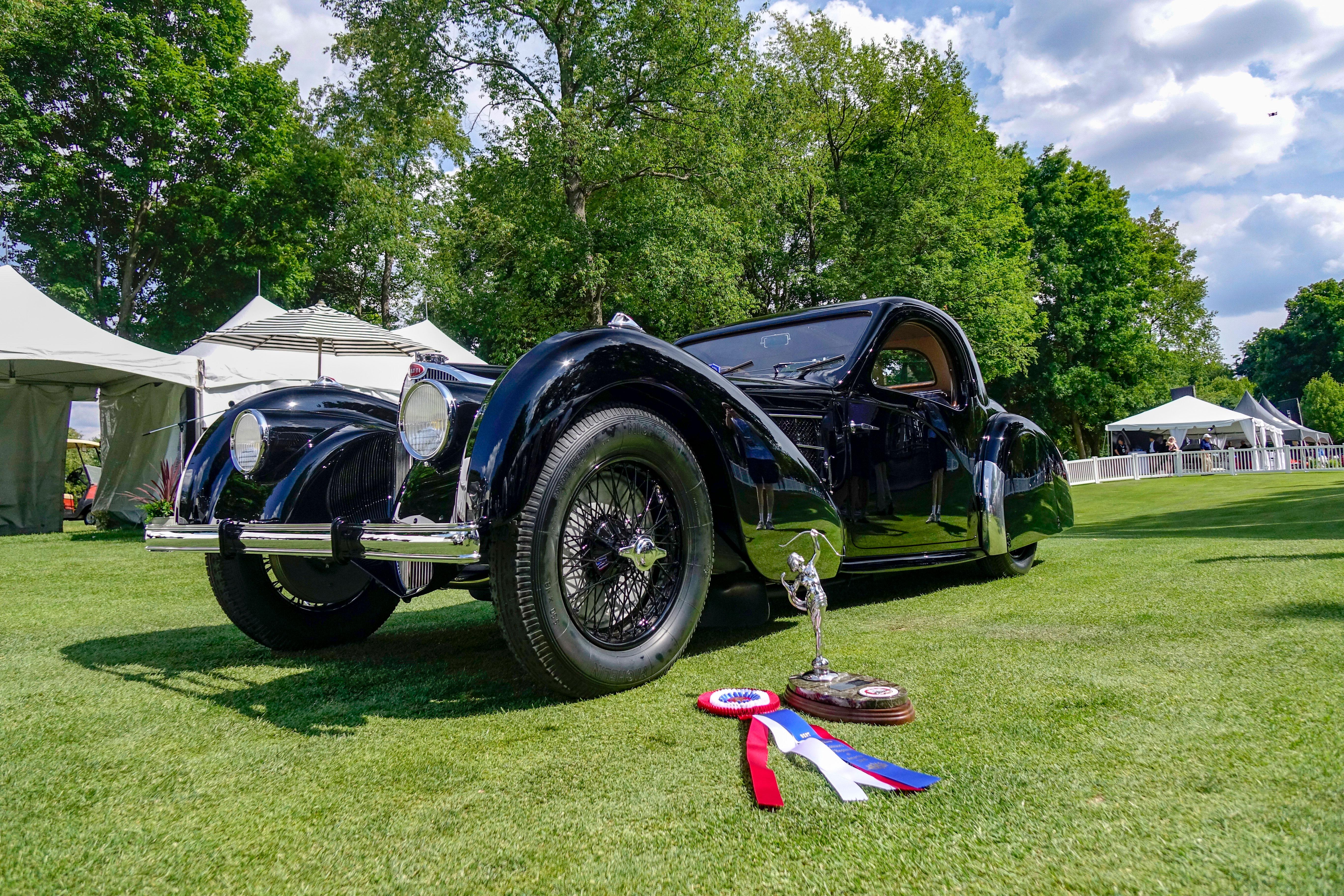 concours of america 2018 best european bugatti 57s