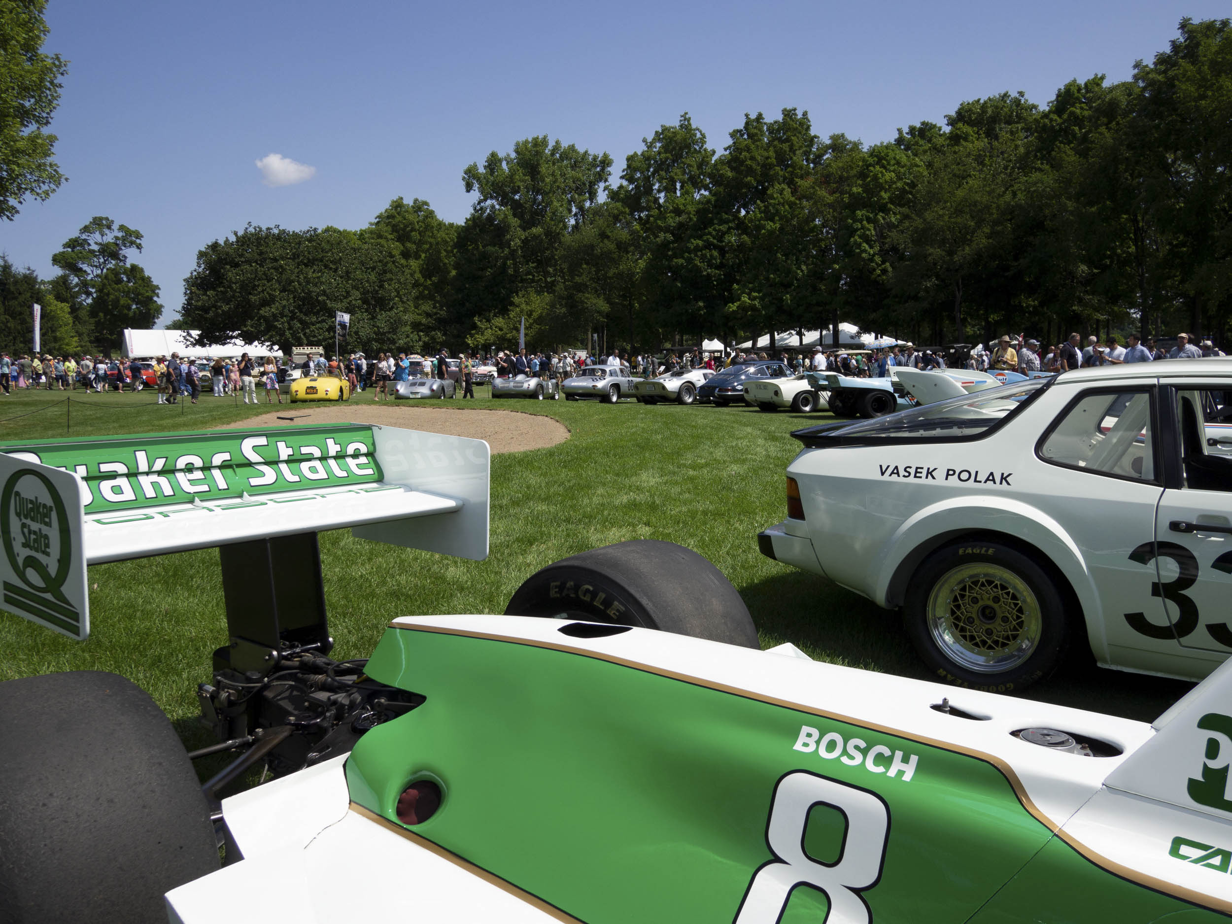 1989 Porsche Indy - Quaker State by March wing