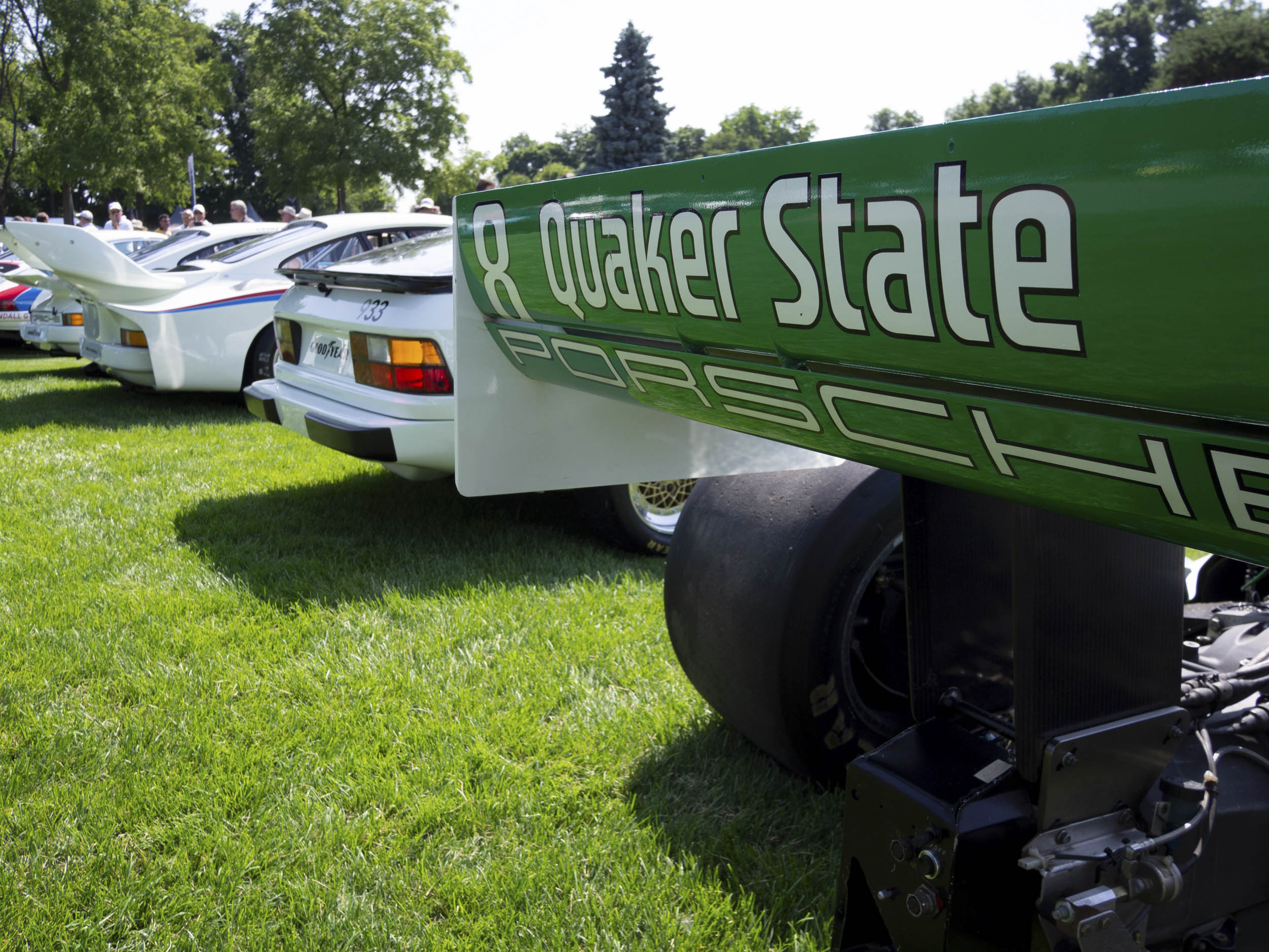1989 Porsche Indy - Quaker State by March rear wing