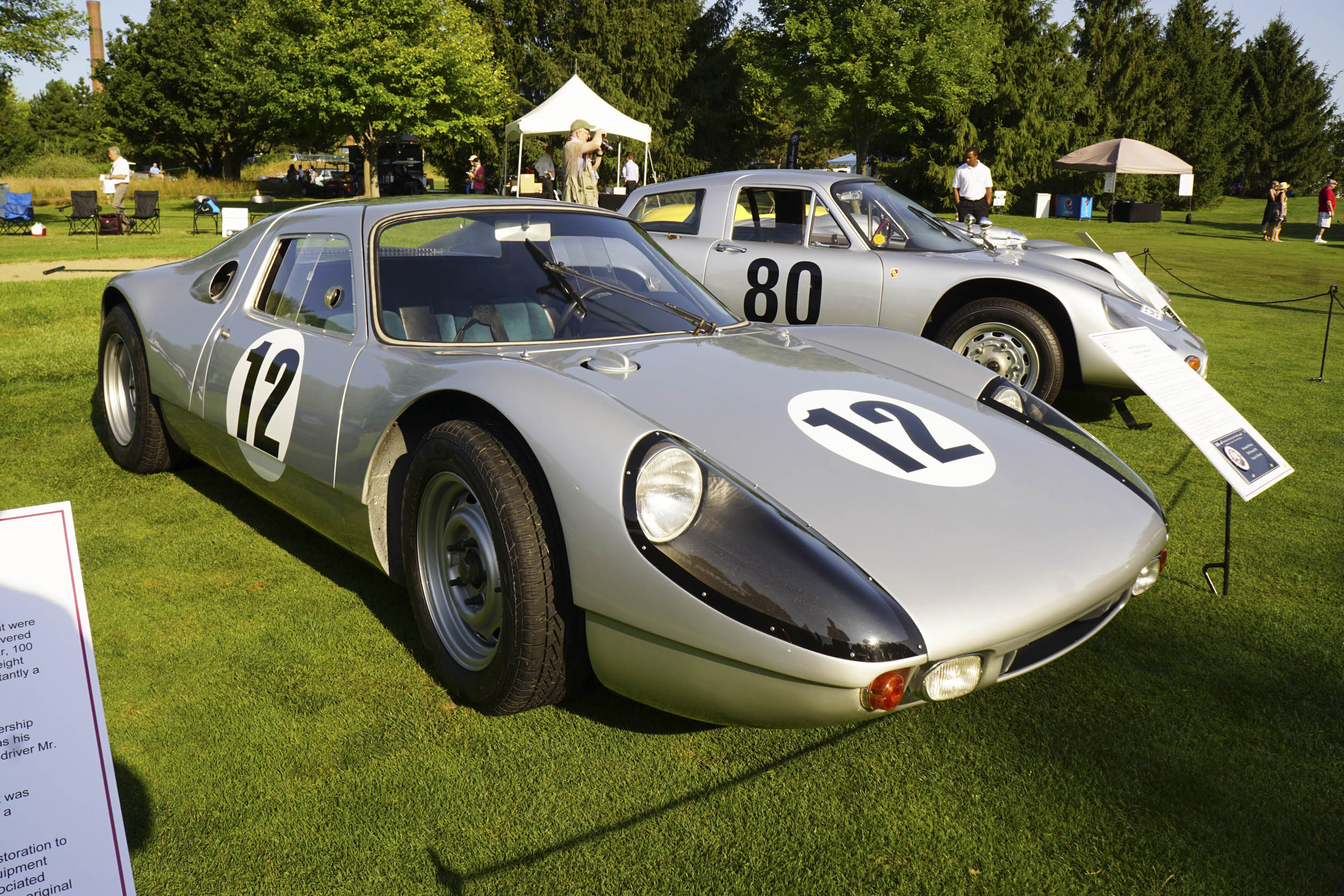 1964 Porsche 904 Carrera GT front 3/4