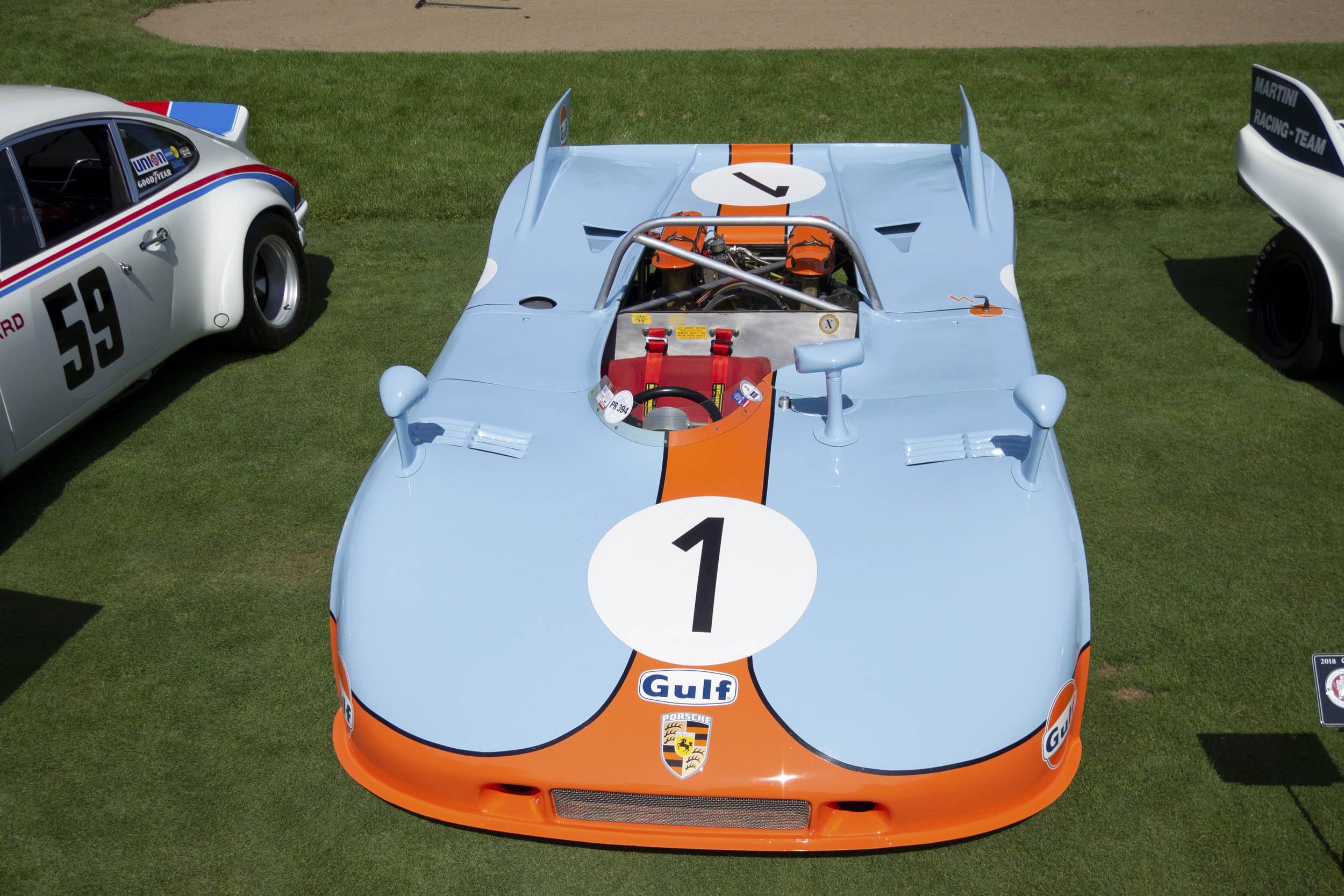 1971 Porsche 908/03 overhead