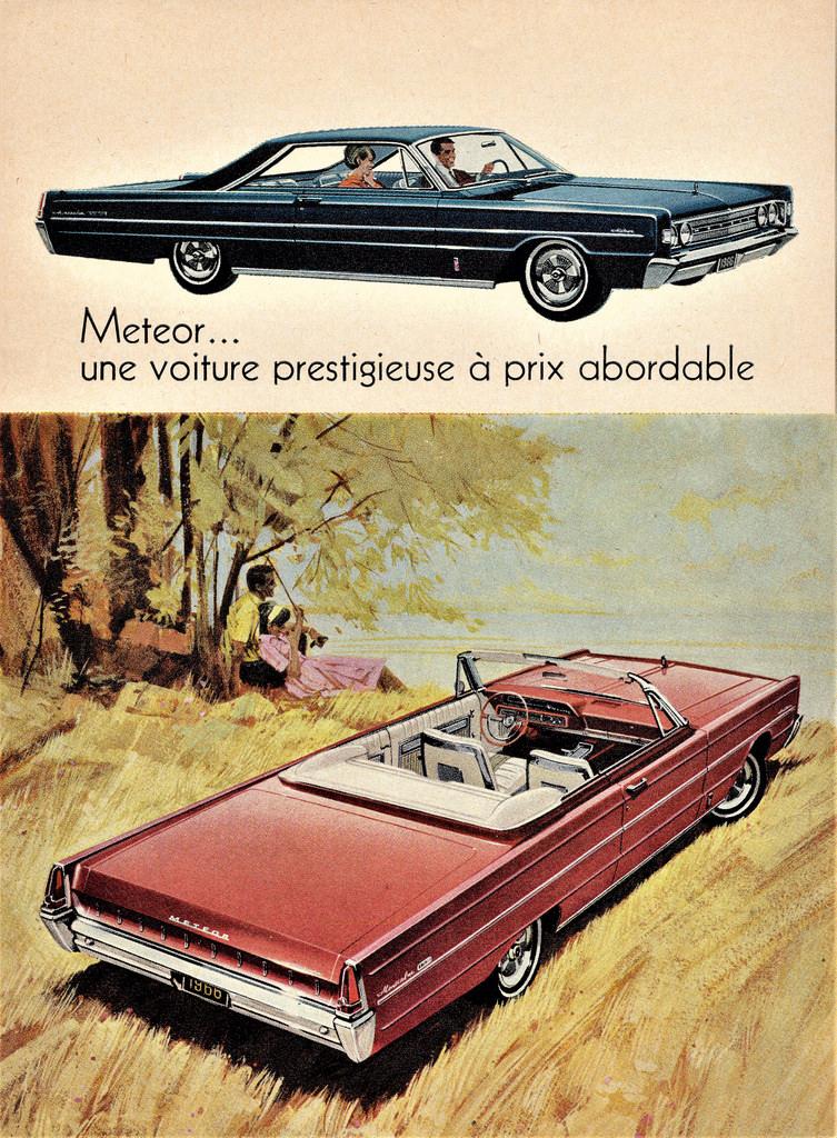 1966 Meteor Montcalm S-33 advertisement